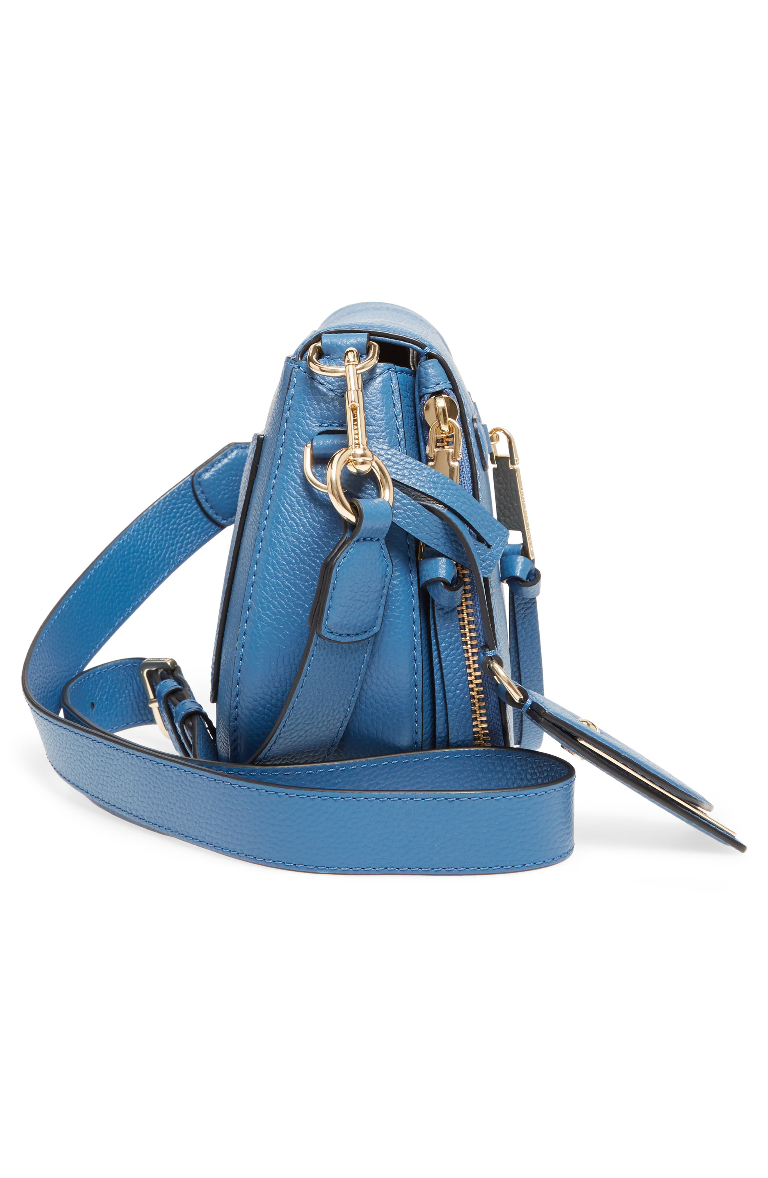 Small Recruit Nomad Pebbled Leather Crossbody Bag,                             Alternate thumbnail 57, color,