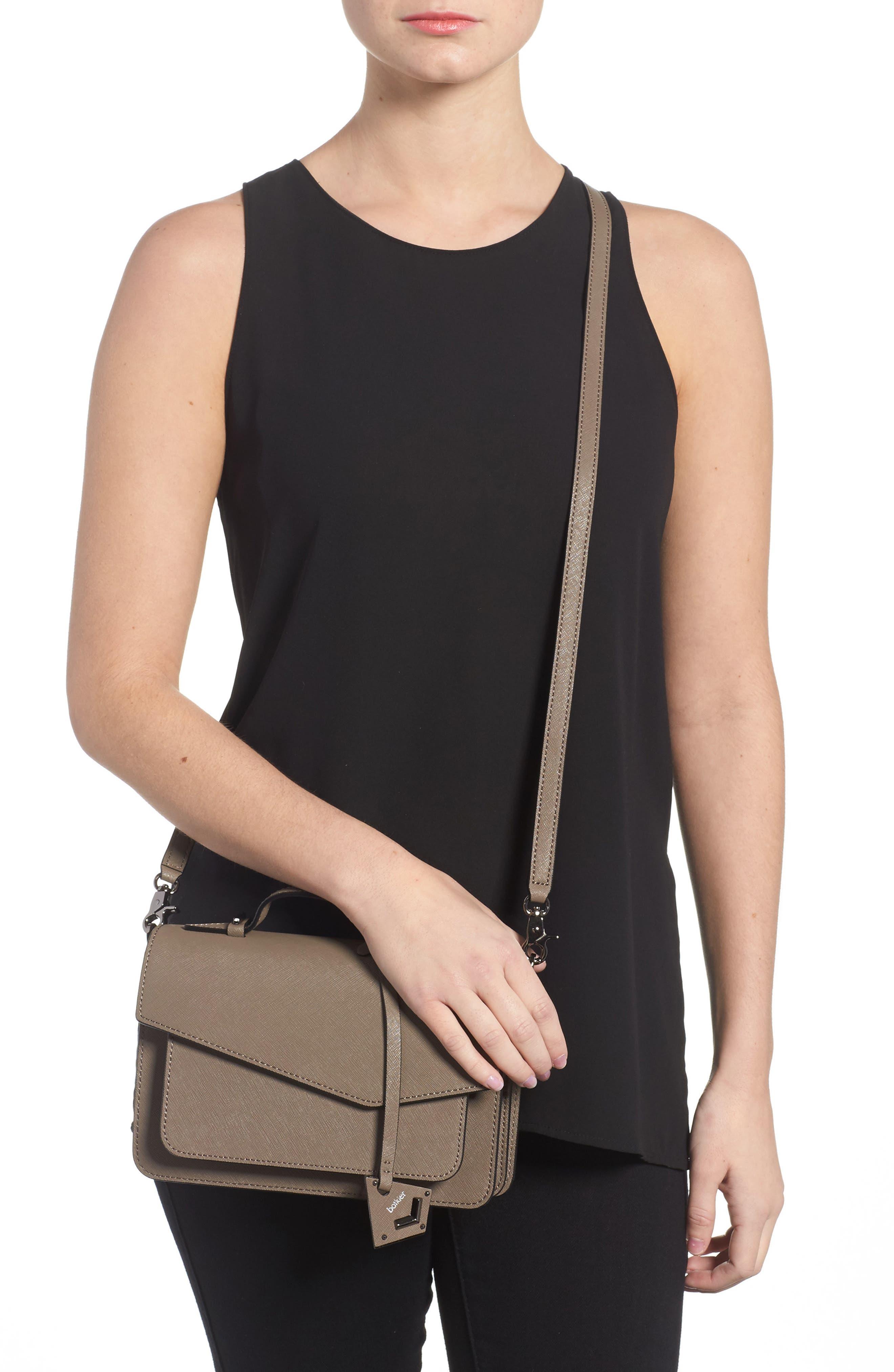 Cobble Hill Leather Crossbody Bag,                             Alternate thumbnail 33, color,