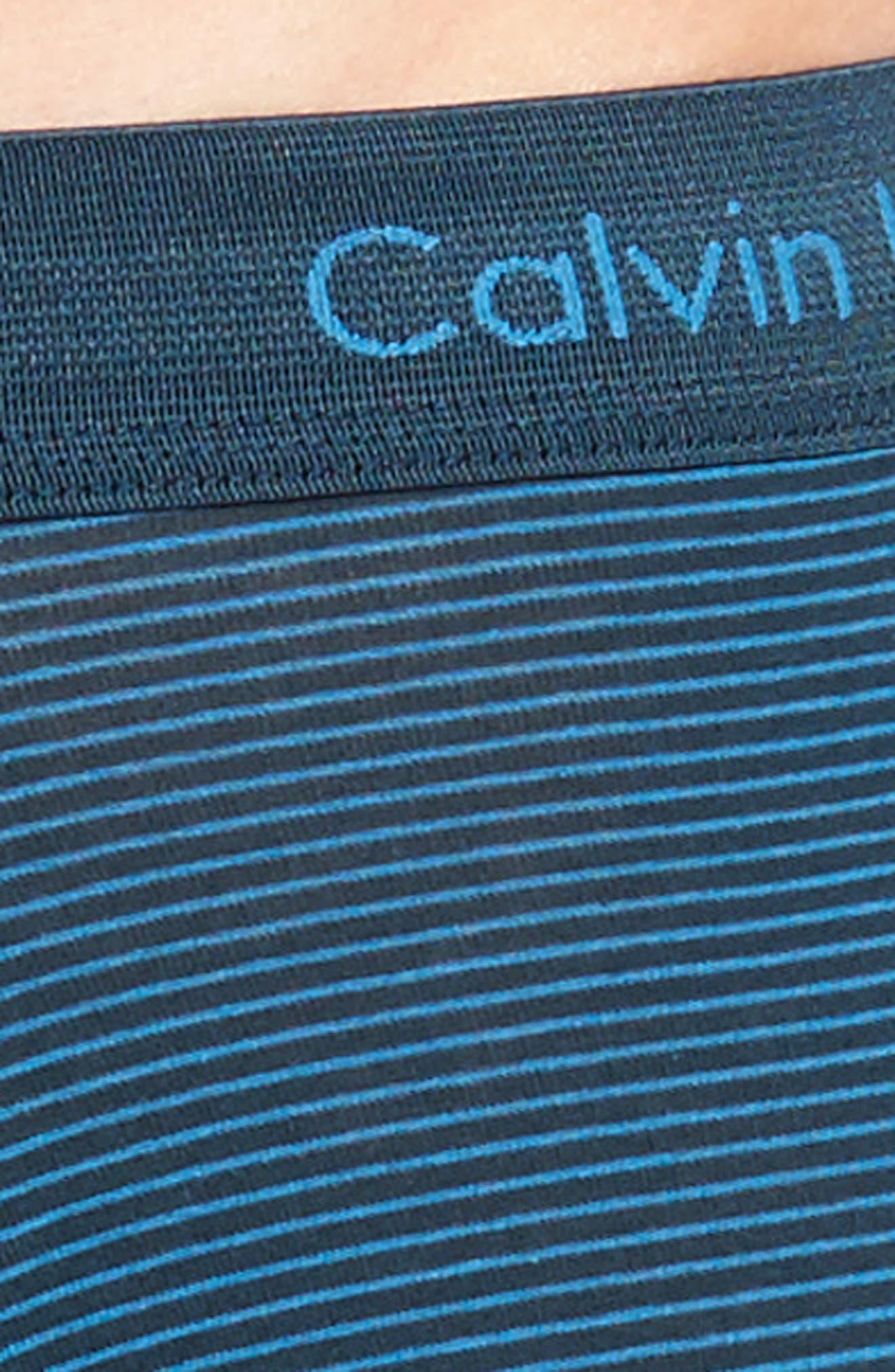 3-Pack Stretch Cotton Low Rise Trunks,                             Alternate thumbnail 5, color,                             BLUE/ SPELLBOUND/ FERVENT