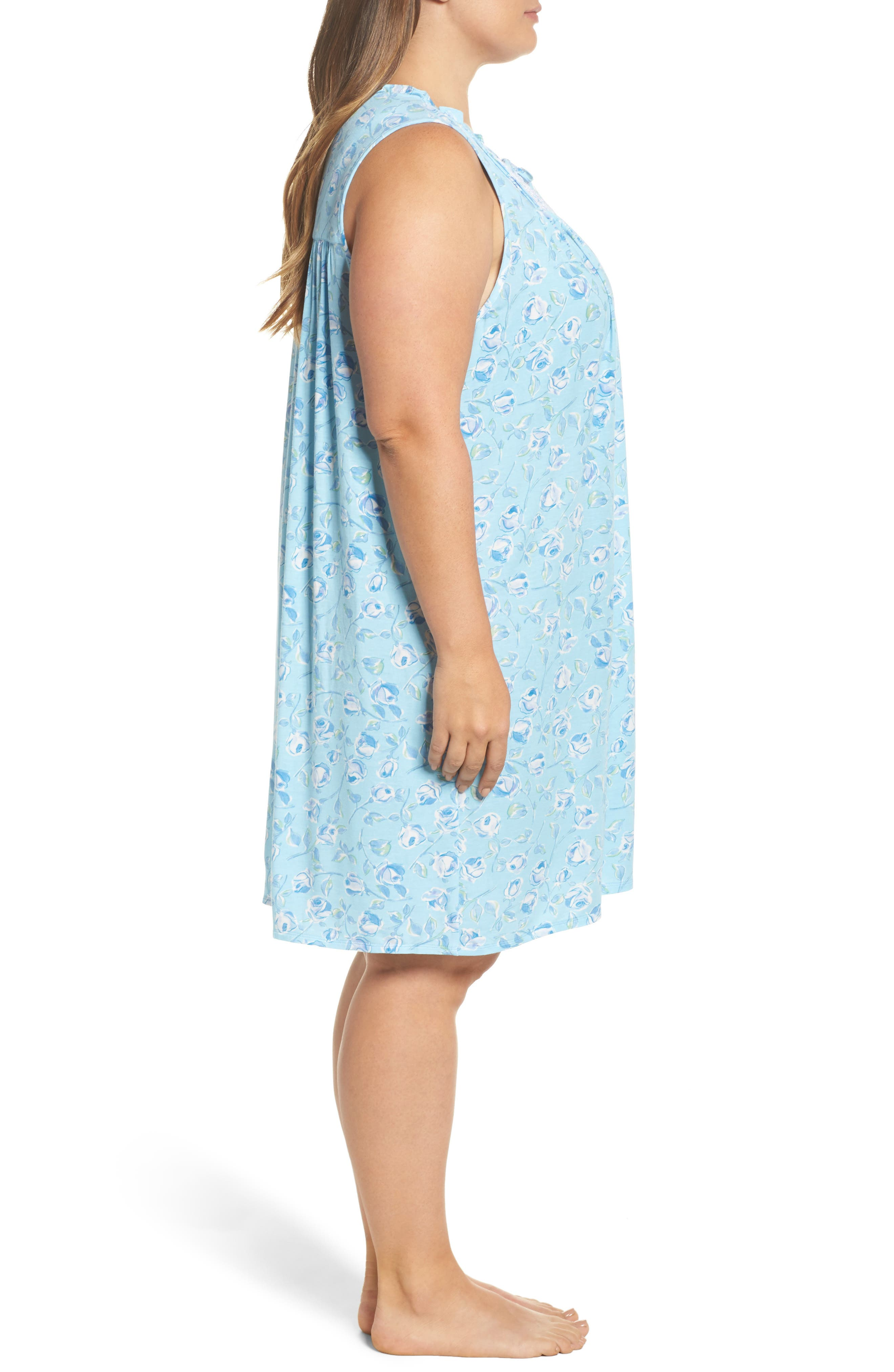 Short Nightgown,                             Alternate thumbnail 3, color,                             400