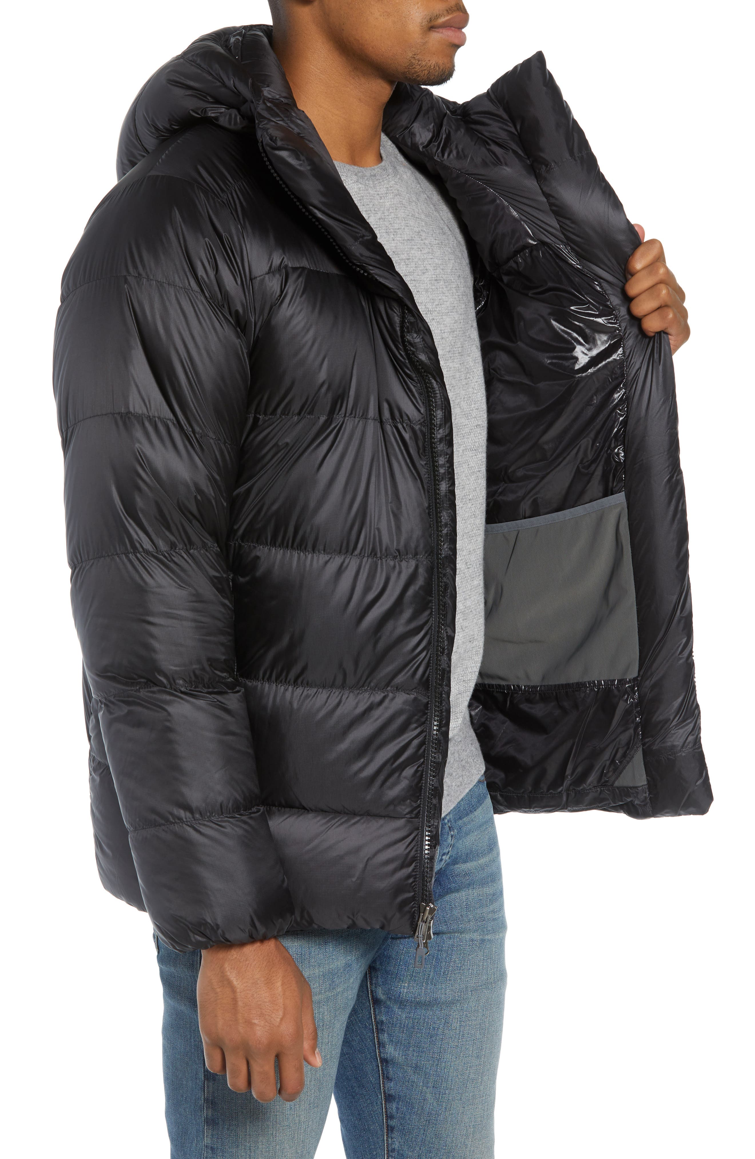 Fitz Roy Water Repellent 800-Fill-Power Down Parka,                             Alternate thumbnail 3, color,                             001