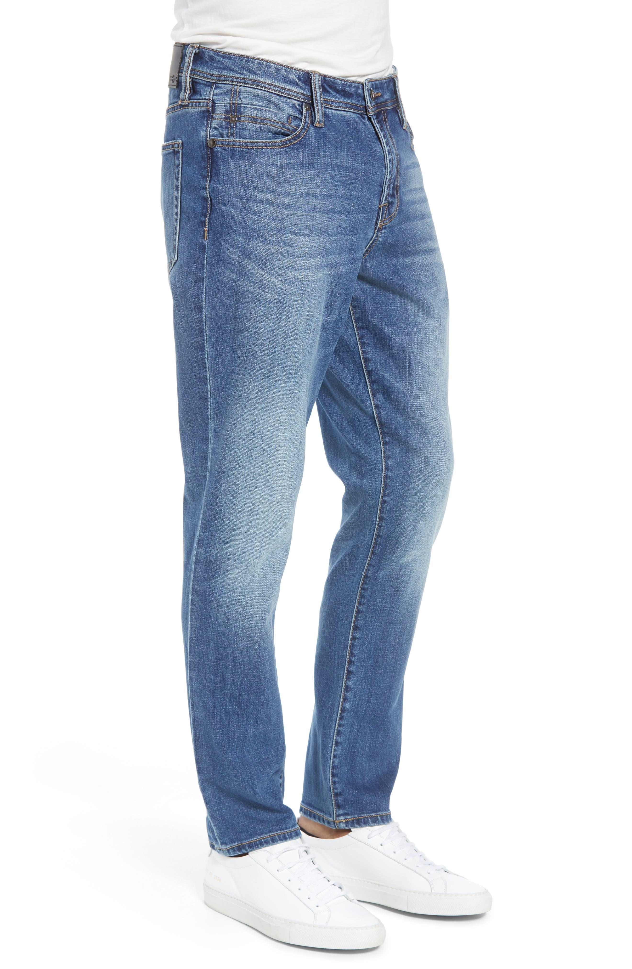 Jeans Co. Slim Straight Leg Jeans,                             Alternate thumbnail 3, color,                             BRYSON VINTAGE MED