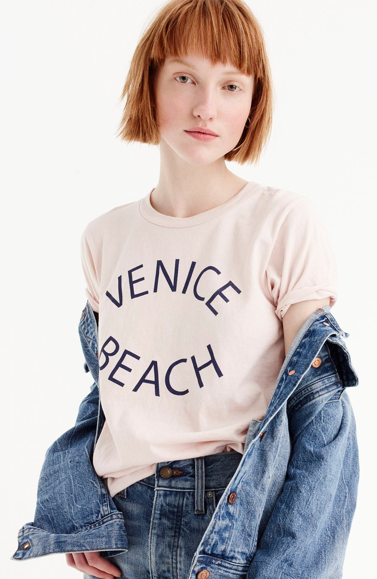 Venice Beach Graphic Tee,                             Alternate thumbnail 2, color,                             650