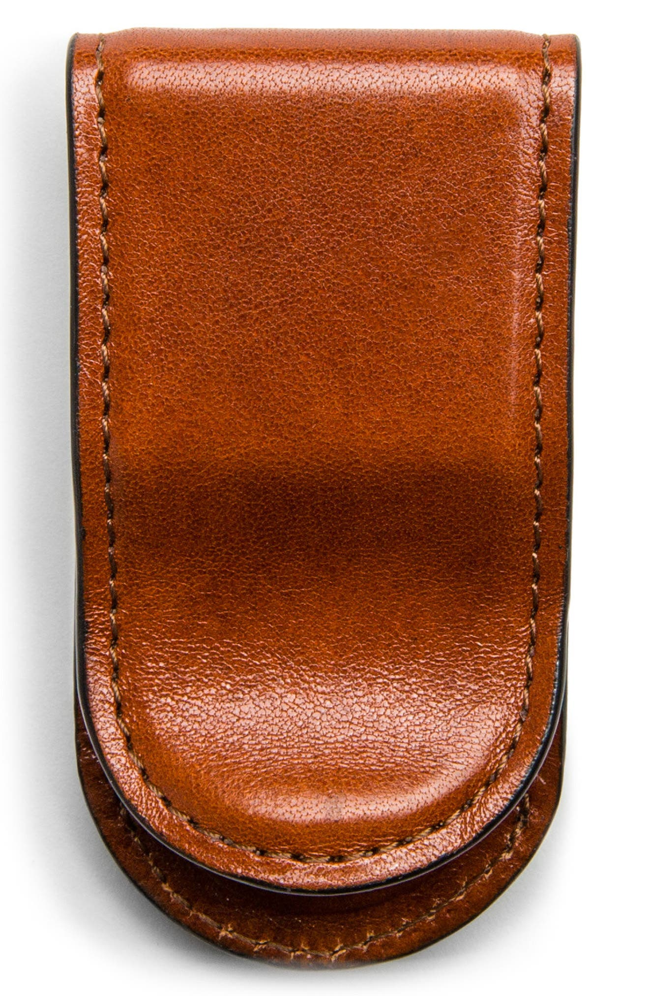Leather Money Clip,                             Main thumbnail 1, color,                             233