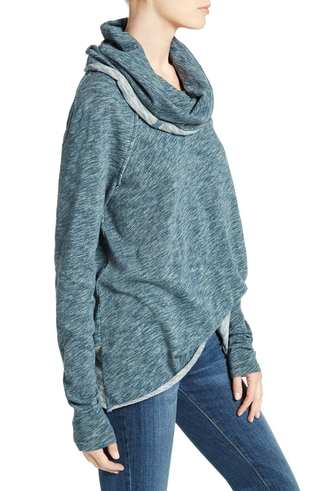 'Beach Cocoon' Cowl Neck Pullover,                             Alternate thumbnail 39, color,
