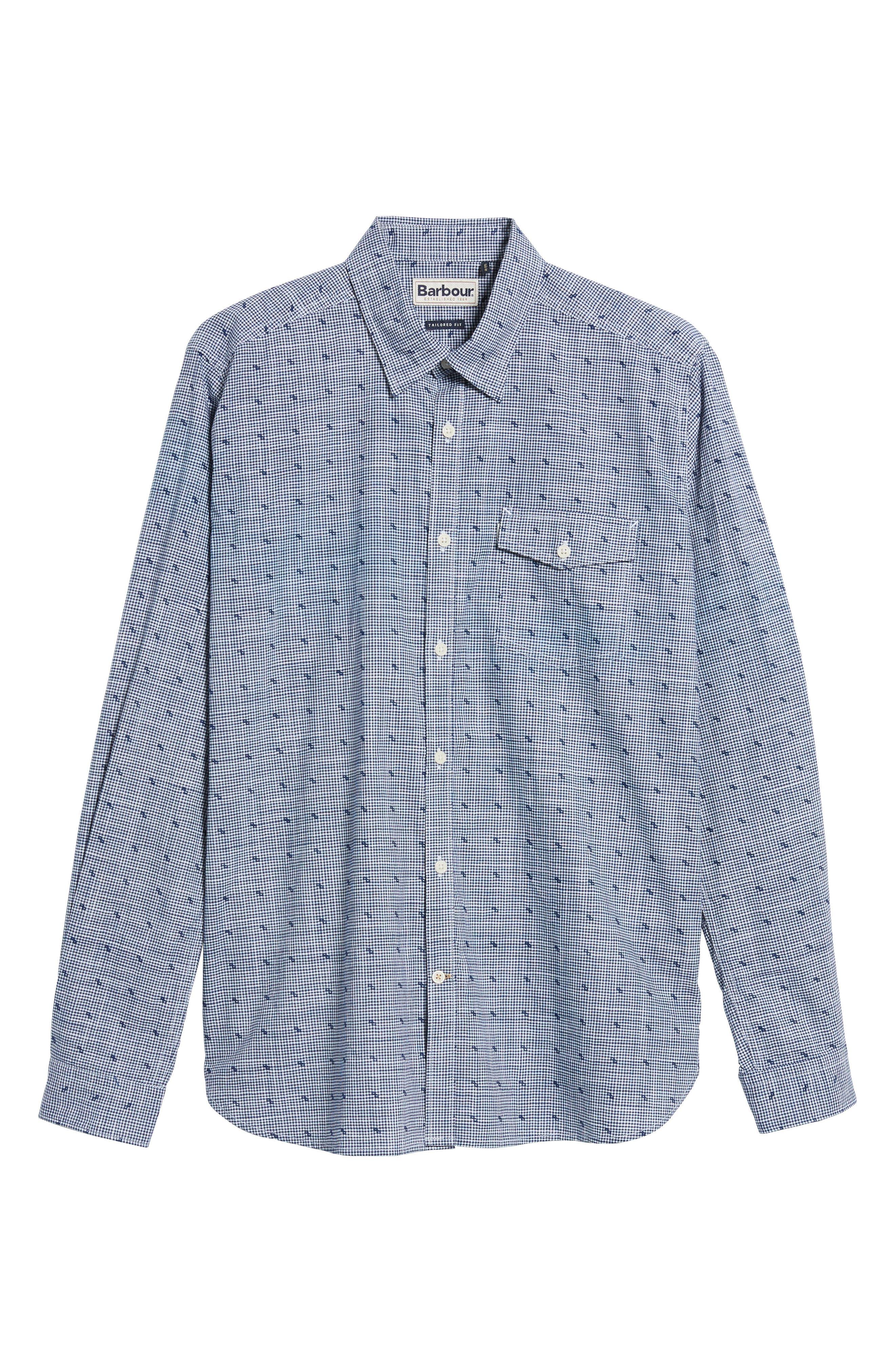 Beluga Regular Fit Check Sport Shirt,                             Alternate thumbnail 6, color,                             410