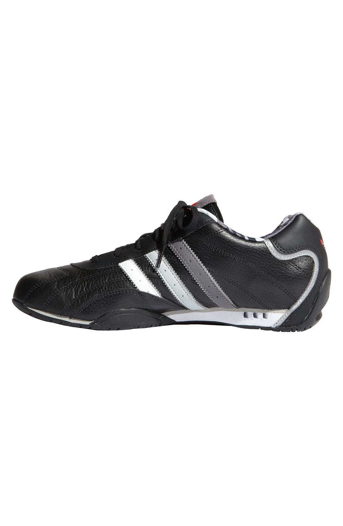 'Adi Racer Lo' Driving Shoe,                             Alternate thumbnail 3, color,                             001