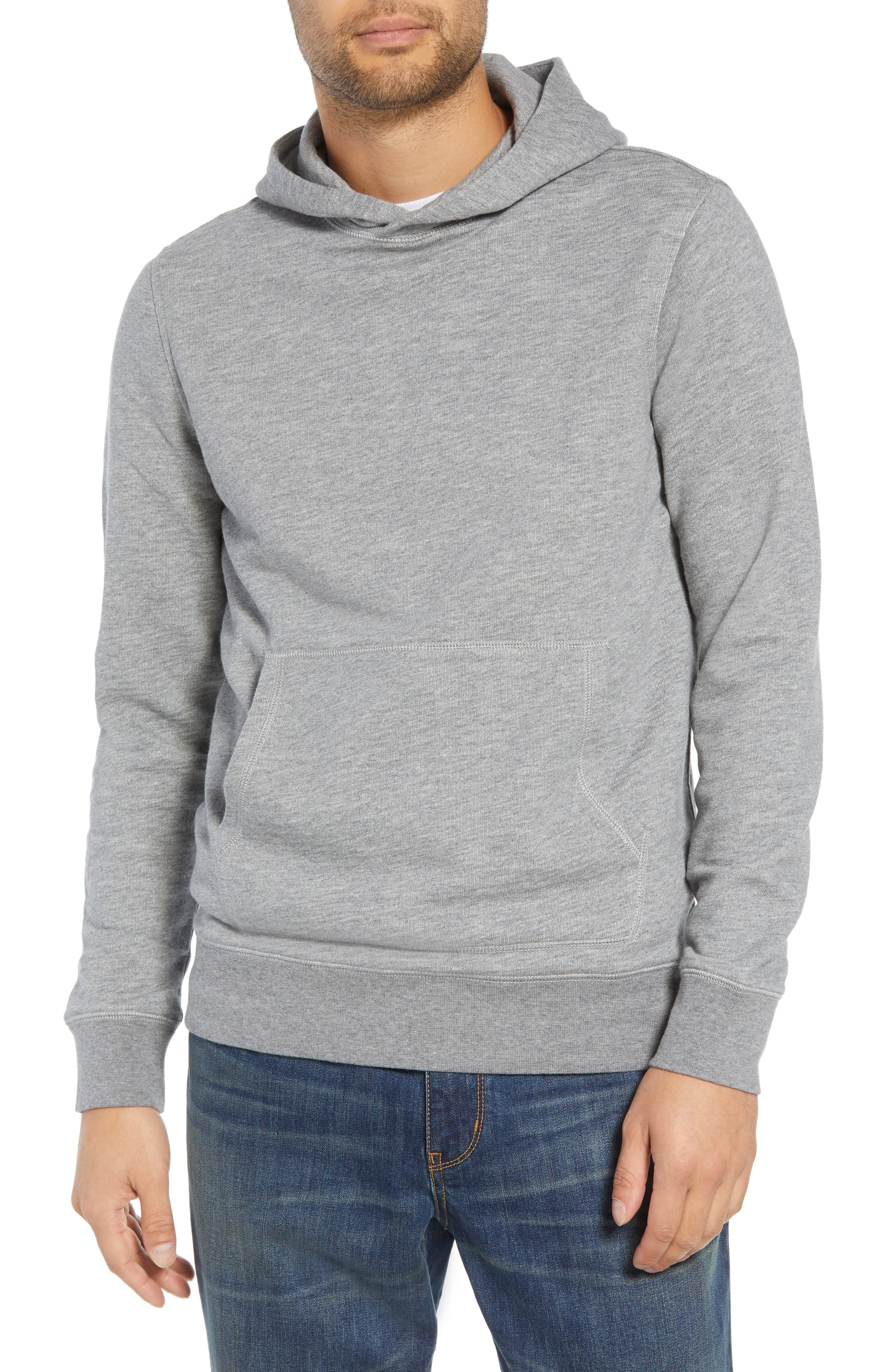 Regular Fit French Terry Pullover Hoodie,                         Main,                         color, 030