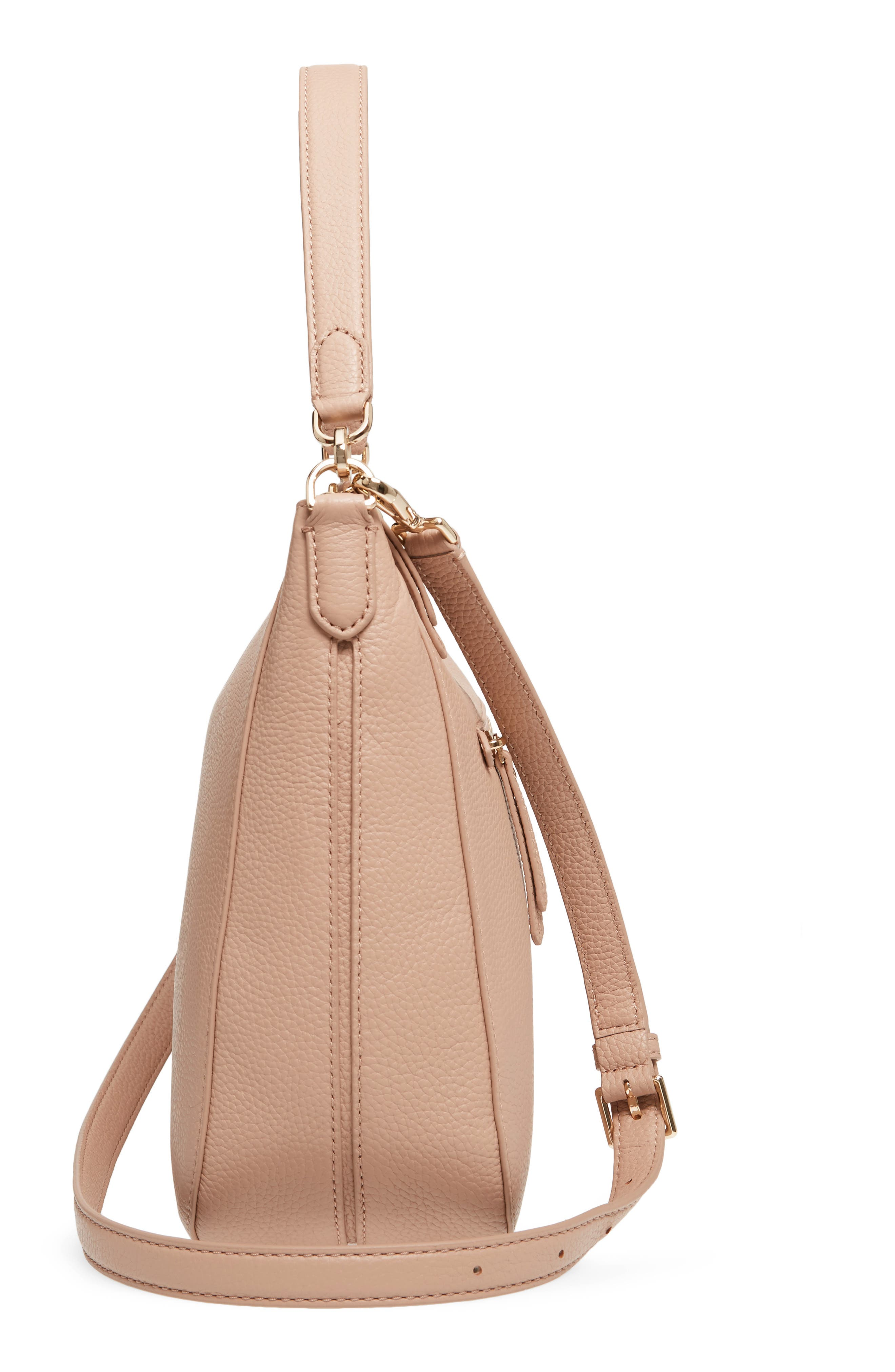 trent hill - quincy leather hobo,                             Alternate thumbnail 10, color,