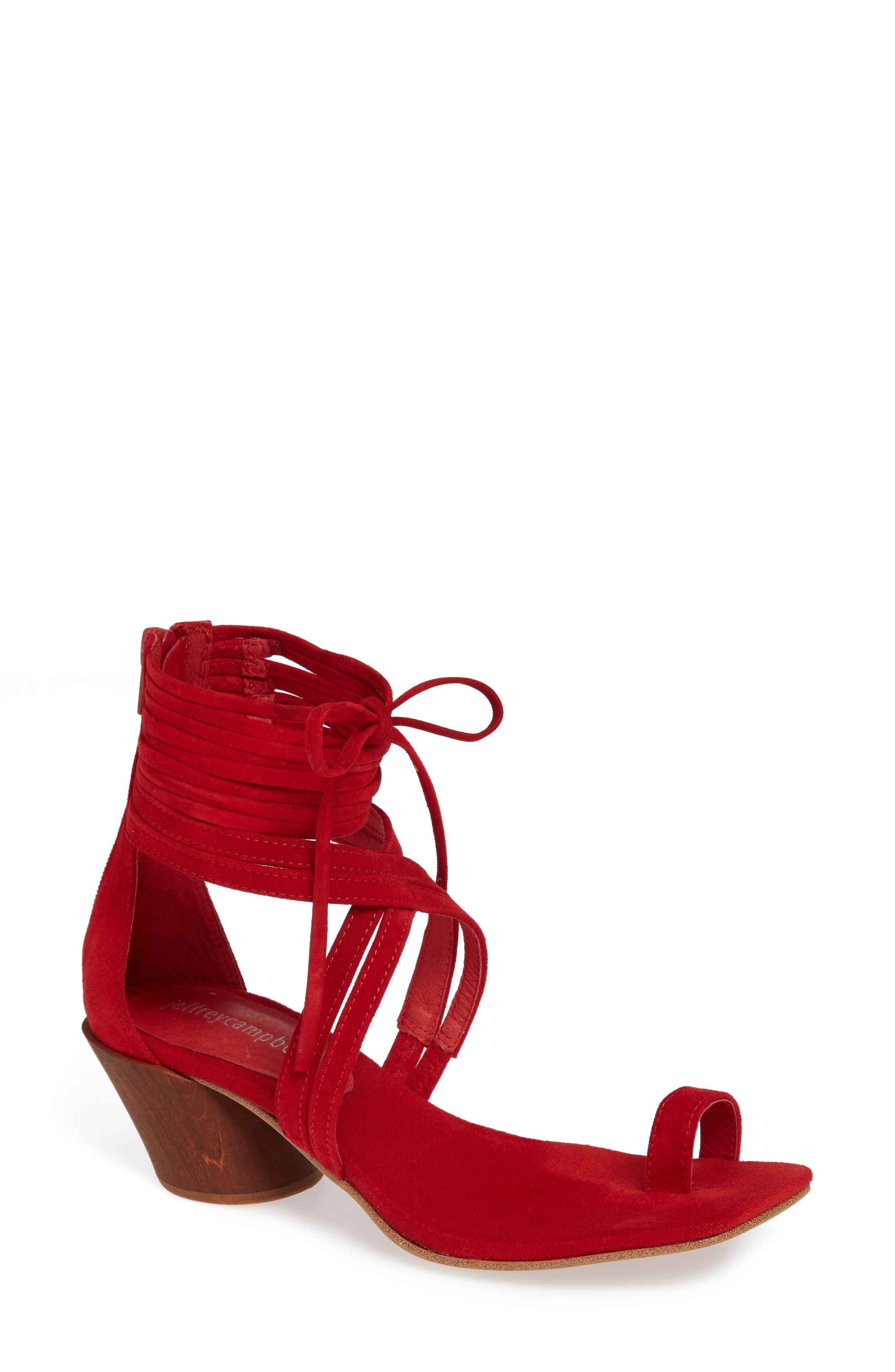 Jeffrey Campbell Rowen Sandal, Red