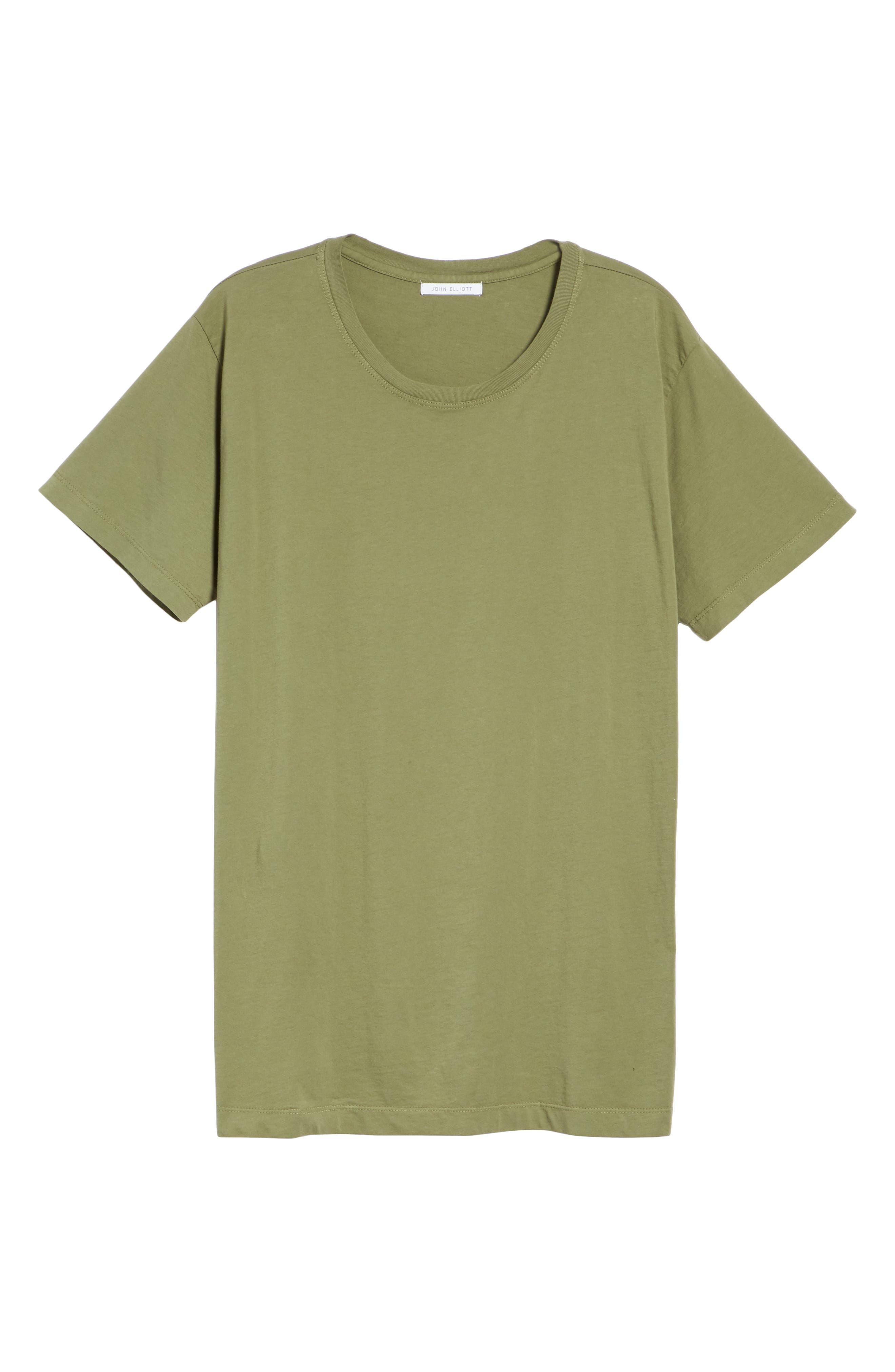 Cotton Classic Crew T-Shirt,                             Alternate thumbnail 6, color,                             301
