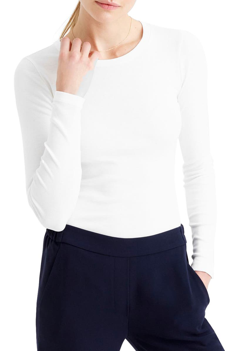 J.crew PERFECT LONG SLEEVE TEE