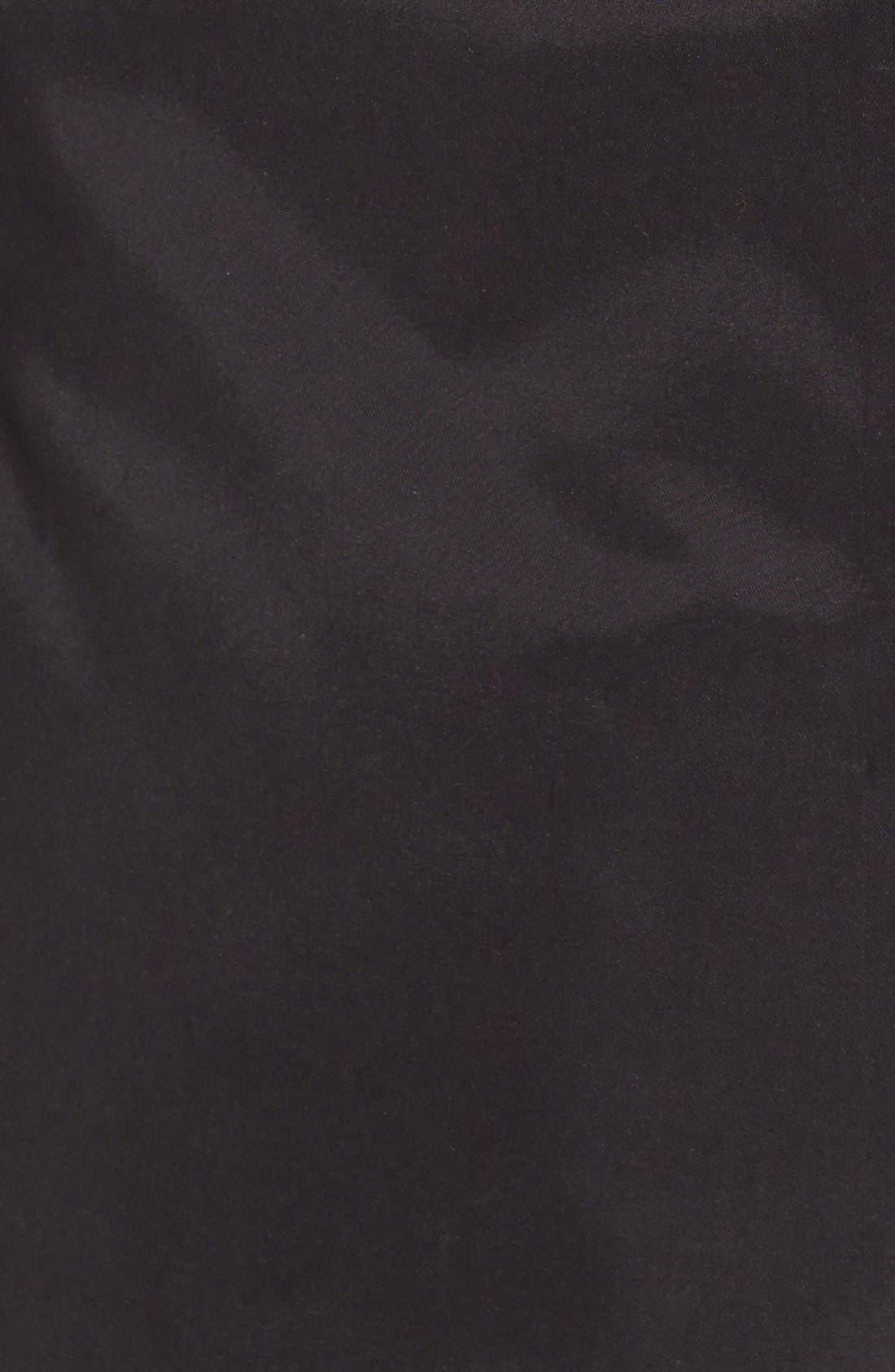 A-Line Raincoat with Detachable Hood,                             Alternate thumbnail 4, color,                             001