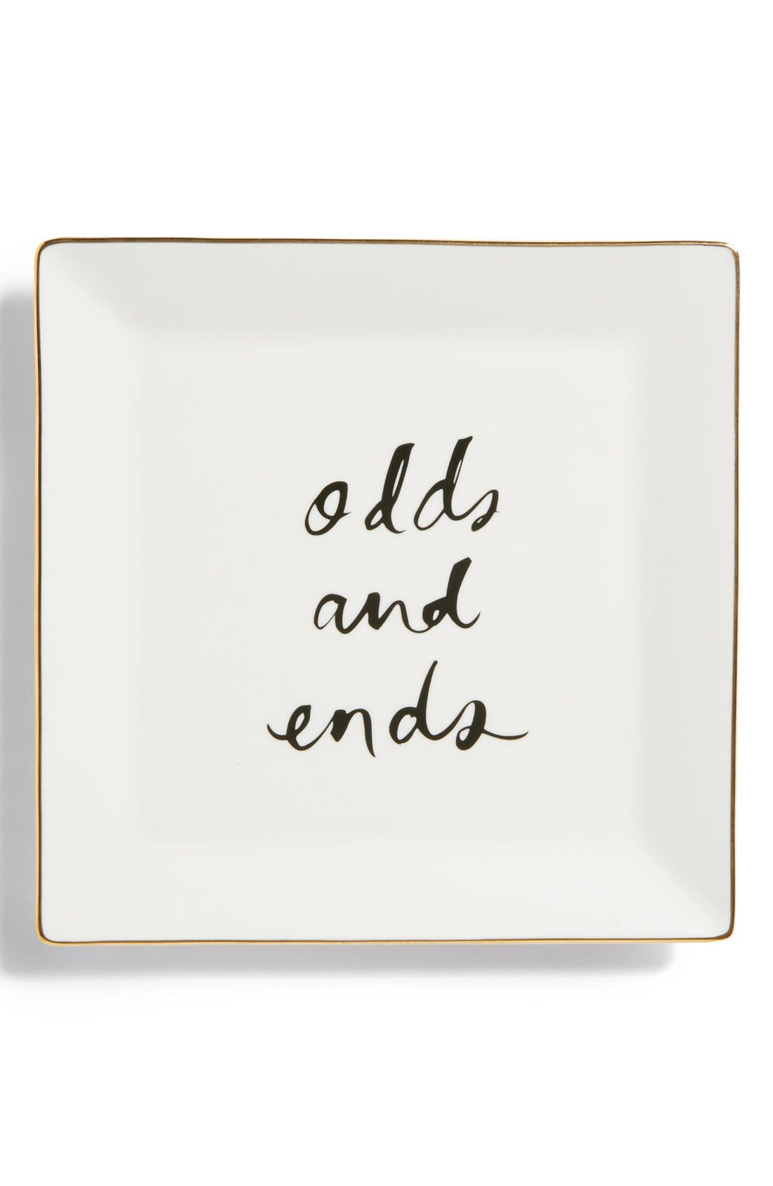 KATE SPADE NEW YORK 'daisy place - odds & ends' tray, Main, color, 100