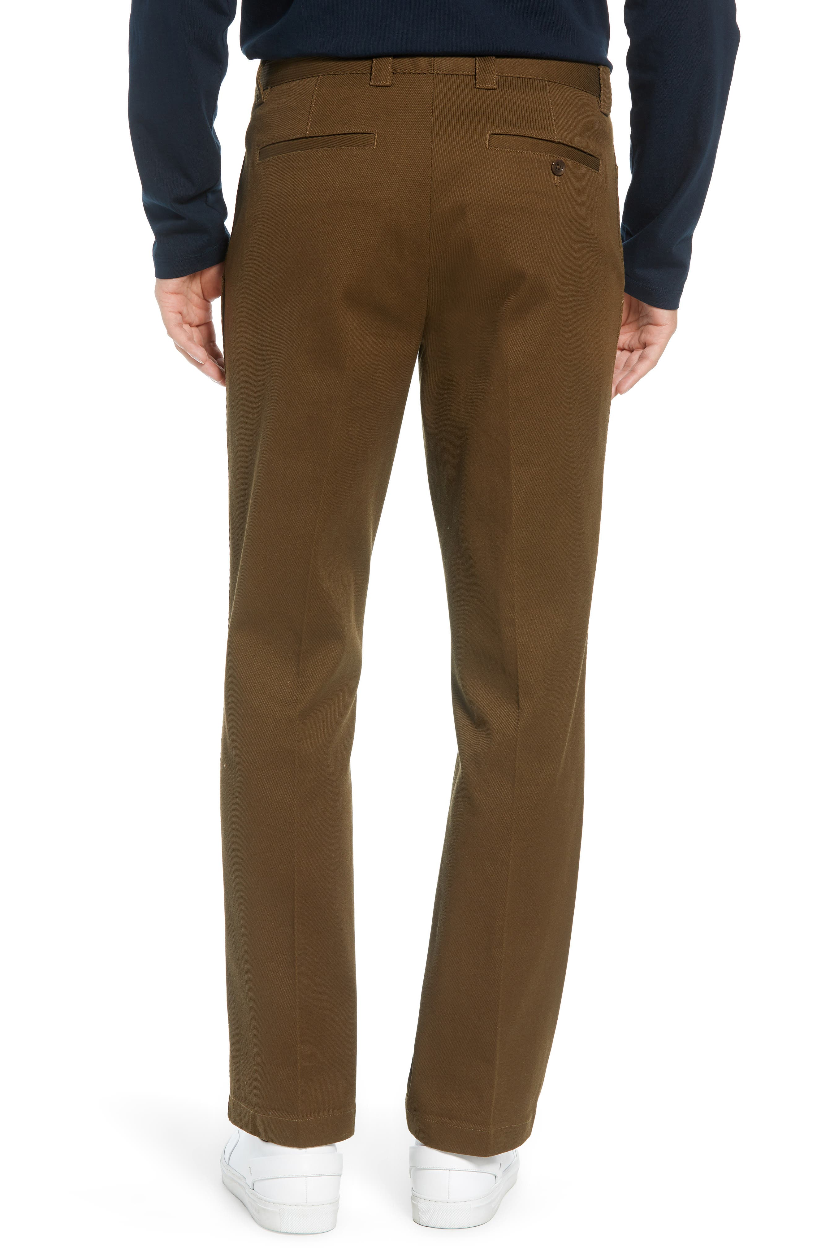 Stay Pressed Classic Fit Pants,                             Alternate thumbnail 2, color,                             INFANTRY GREEN