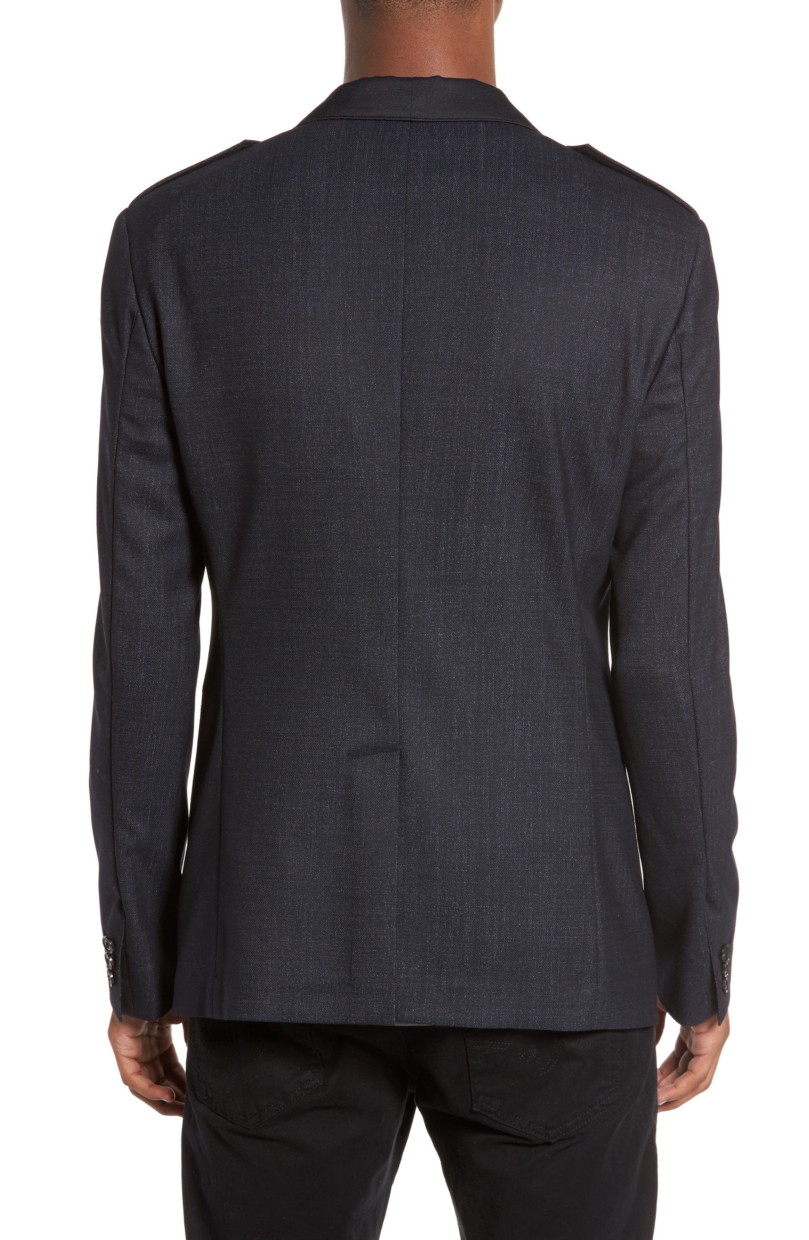 Shawl Collar Wool Blazer,                             Alternate thumbnail 2, color,                             414