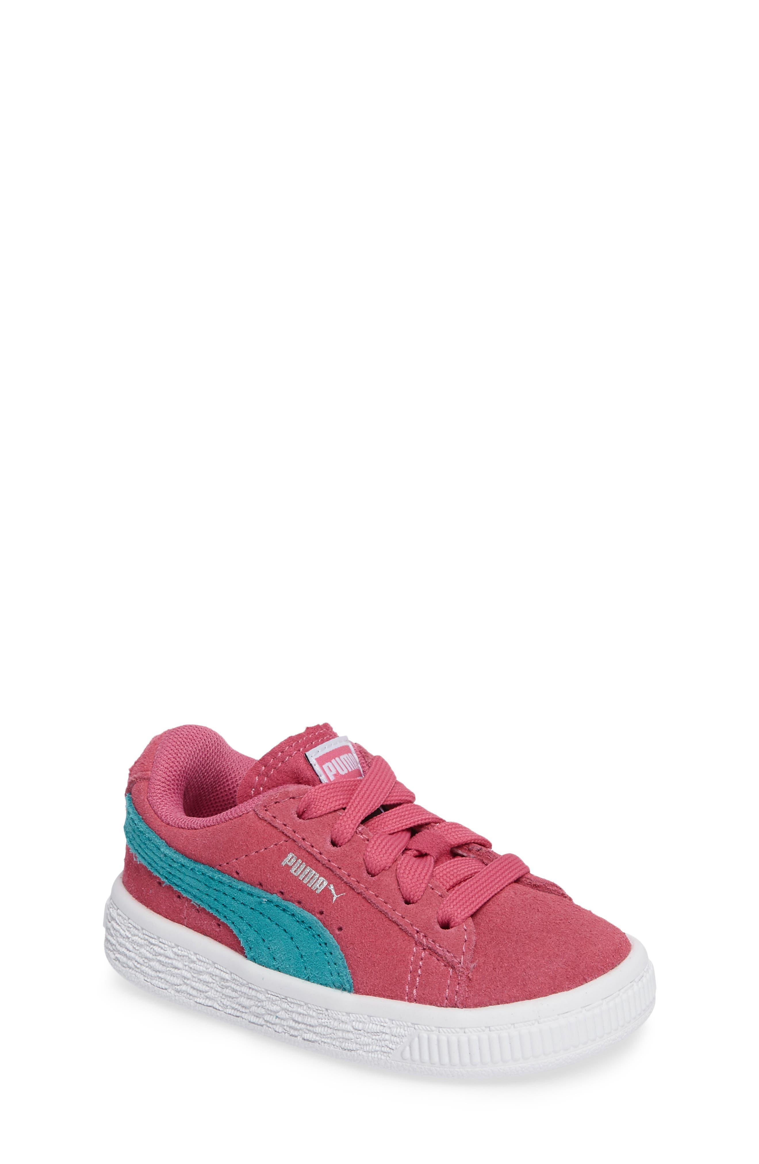 Suede Sneaker,                             Main thumbnail 1, color,                             690