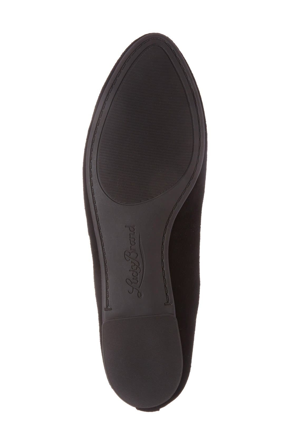 'Aviee' Lace-Up Flat,                             Alternate thumbnail 19, color,