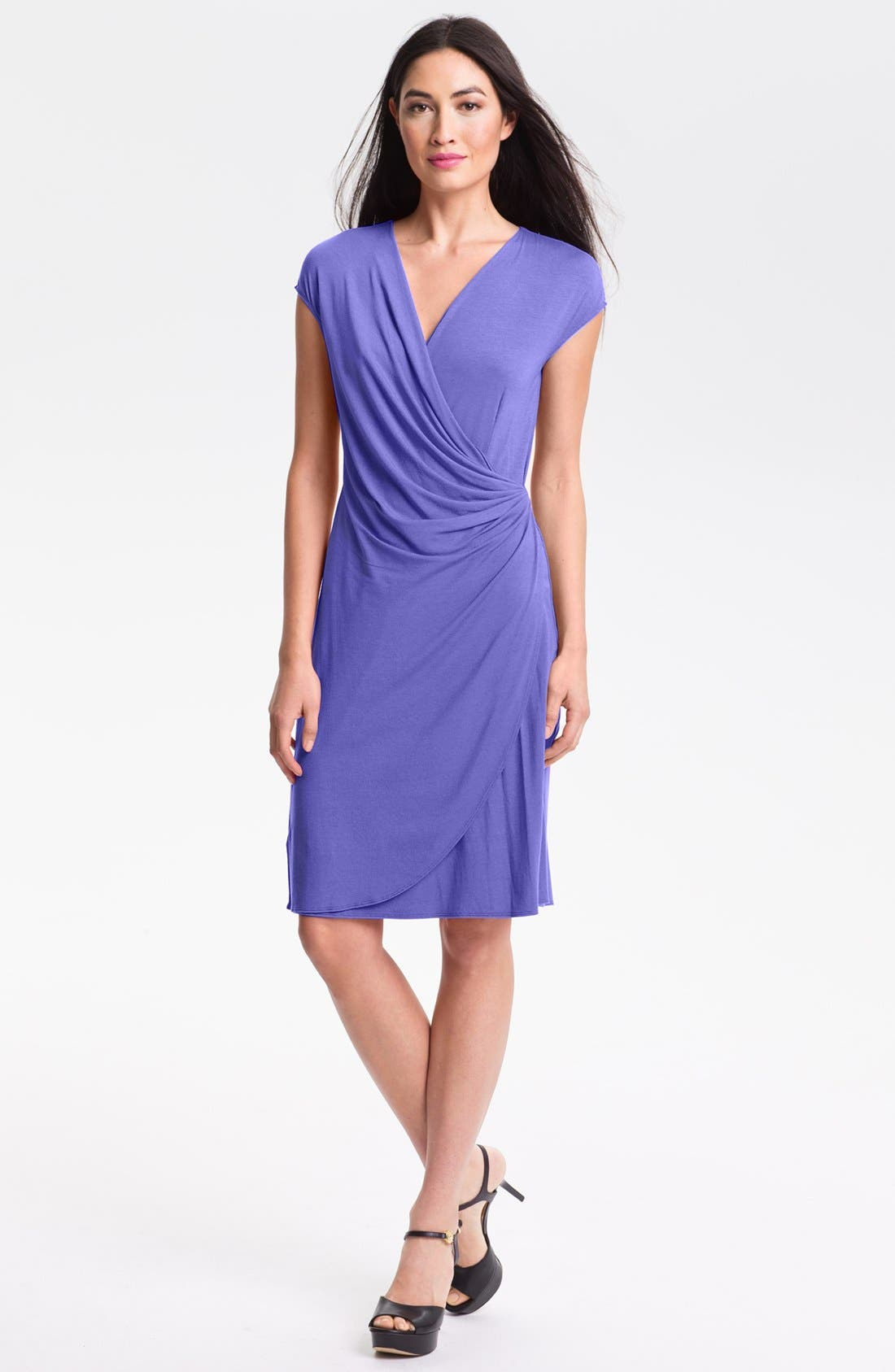 'Tambour' Side Gathered Dress,                             Main thumbnail 5, color,