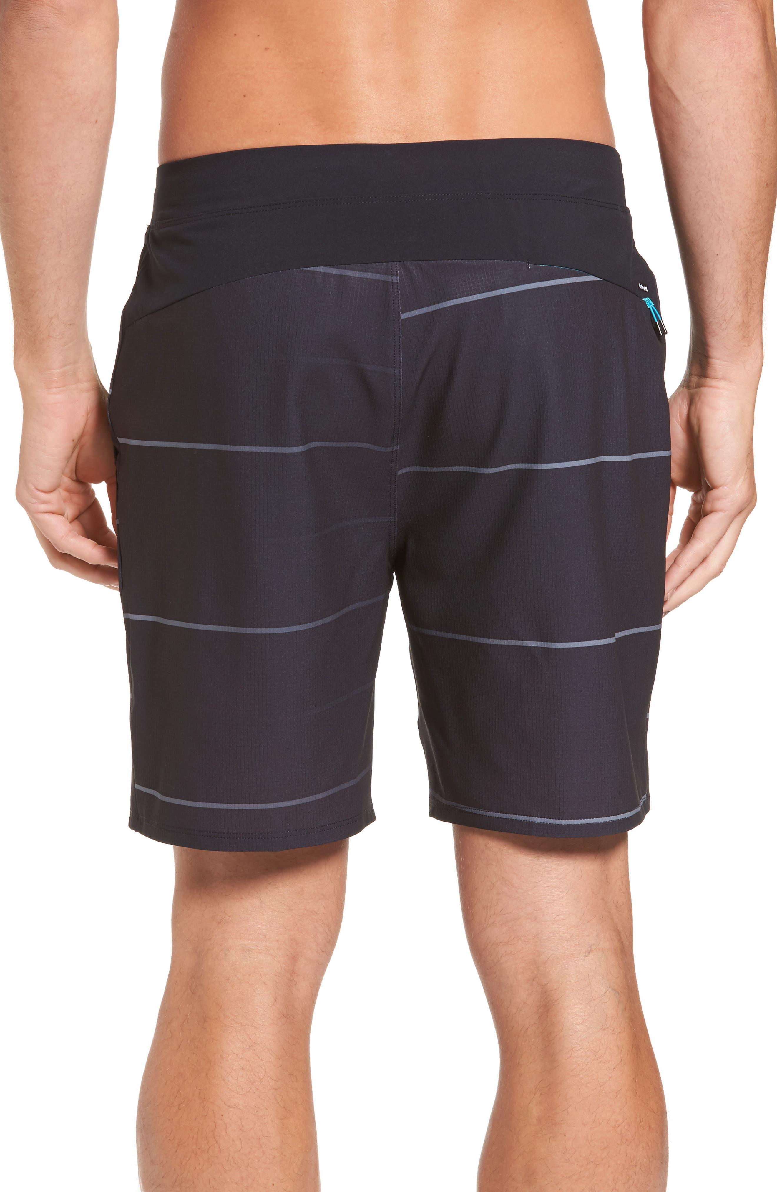 Alpha Trainer Stripe Shorts,                             Alternate thumbnail 2, color,                             010