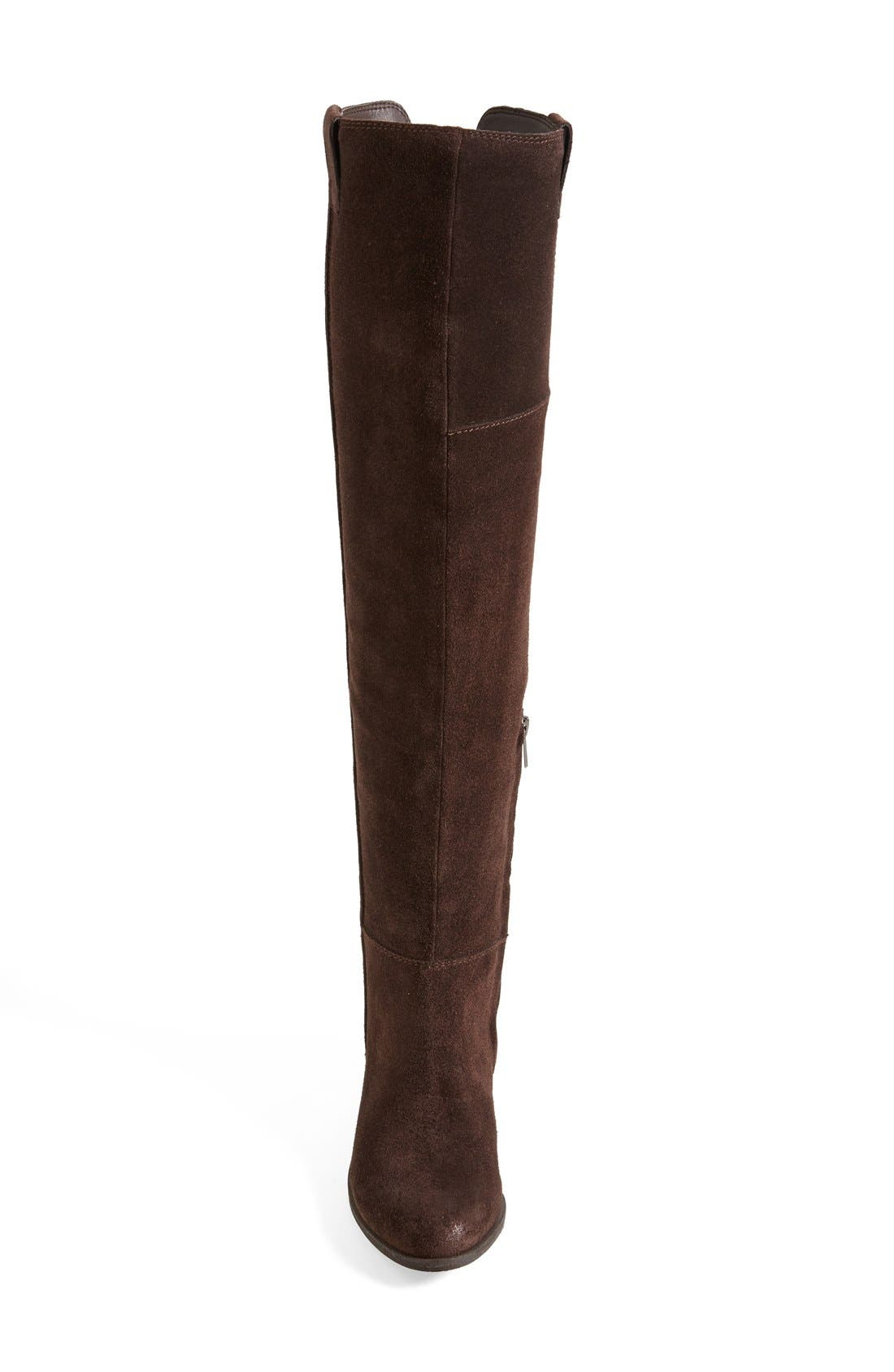'Johanna' Over the Knee Suede Boot,                             Alternate thumbnail 8, color,