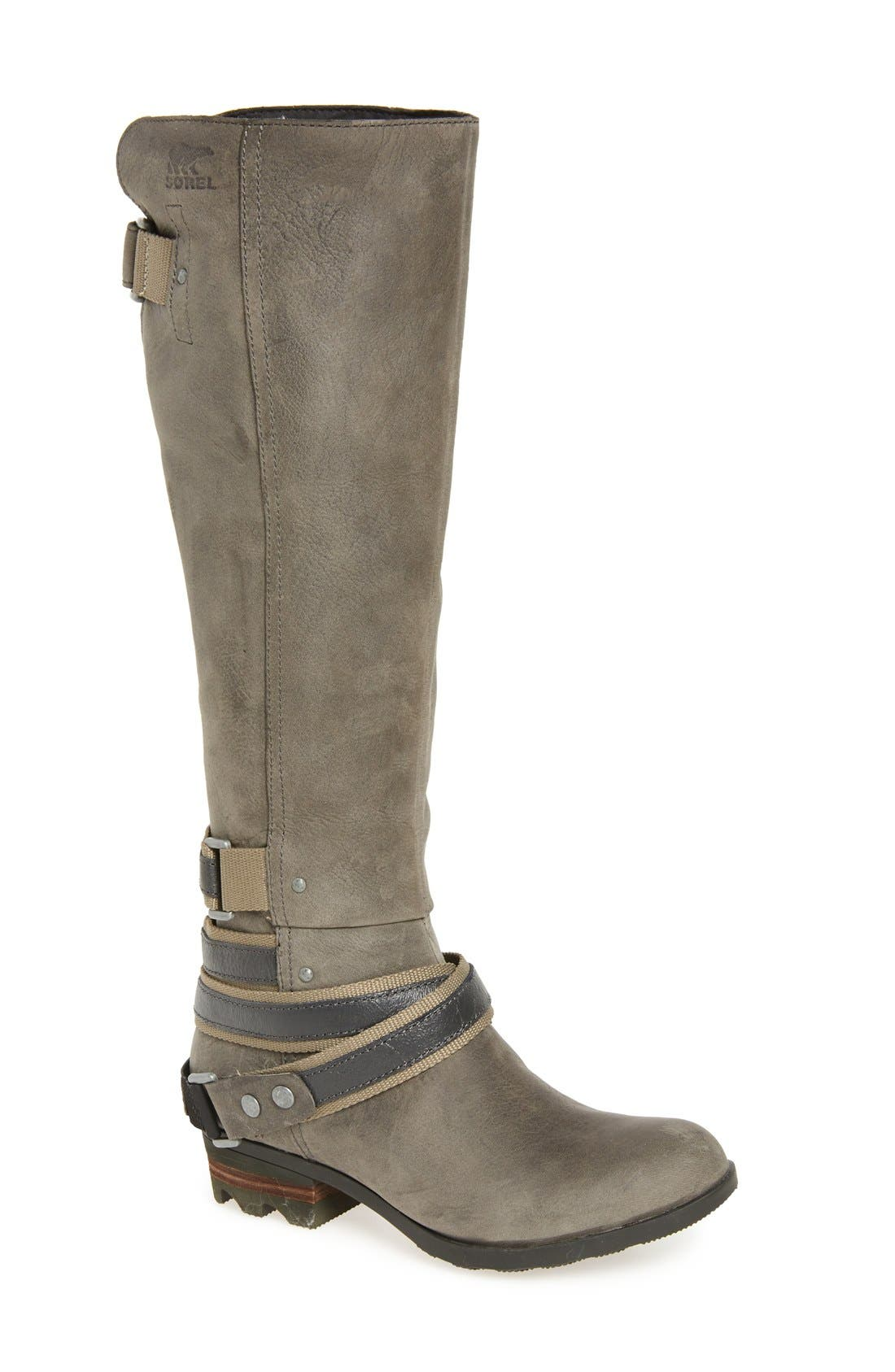 Lolla Water Resistant Tall Boot,                             Main thumbnail 2, color,
