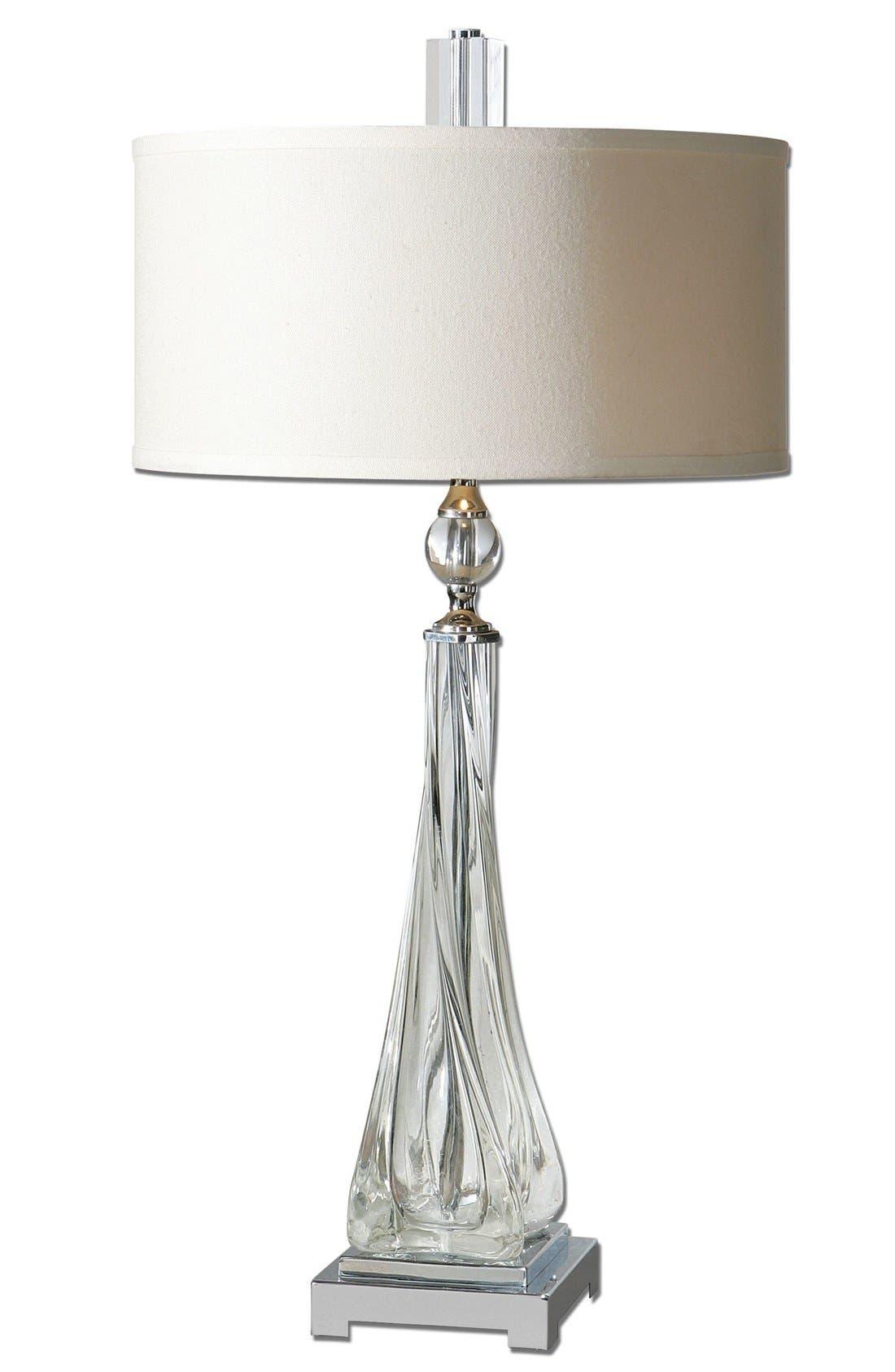 'Grancona' Glass Table Lamp,                             Main thumbnail 1, color,                             100