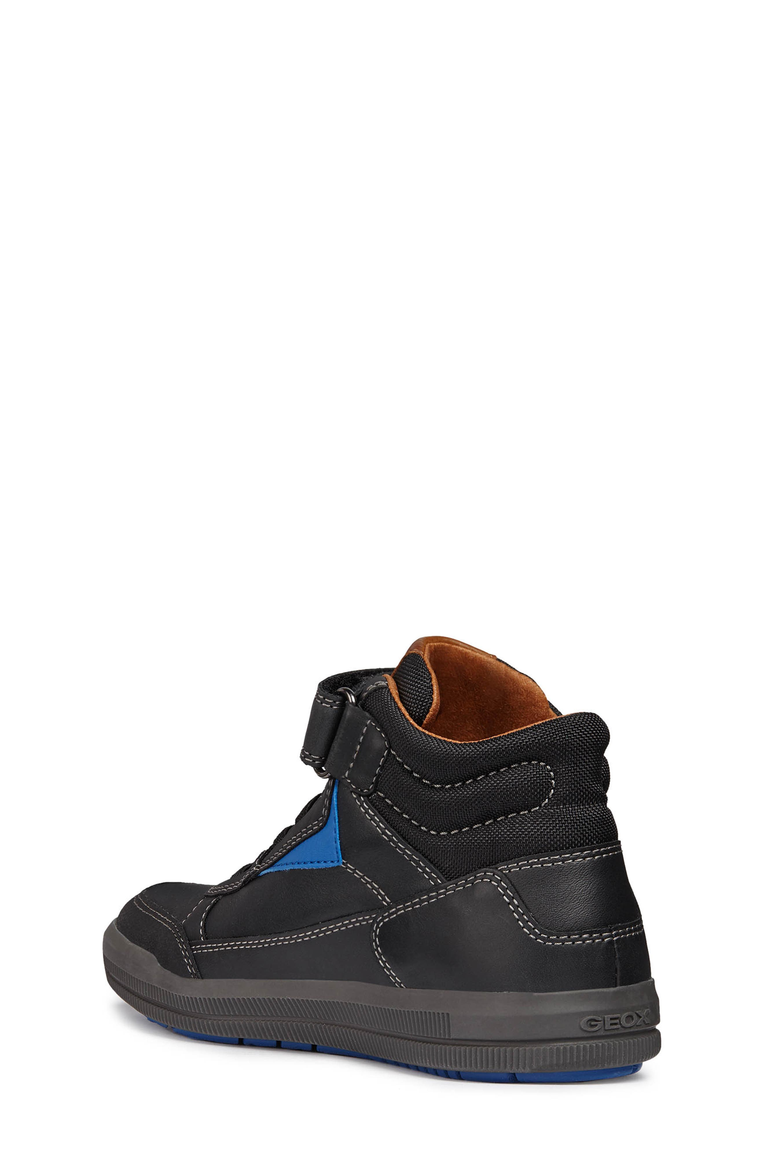 Arzach Mid Top Sneaker,                             Alternate thumbnail 2, color,                             BLACK/RED