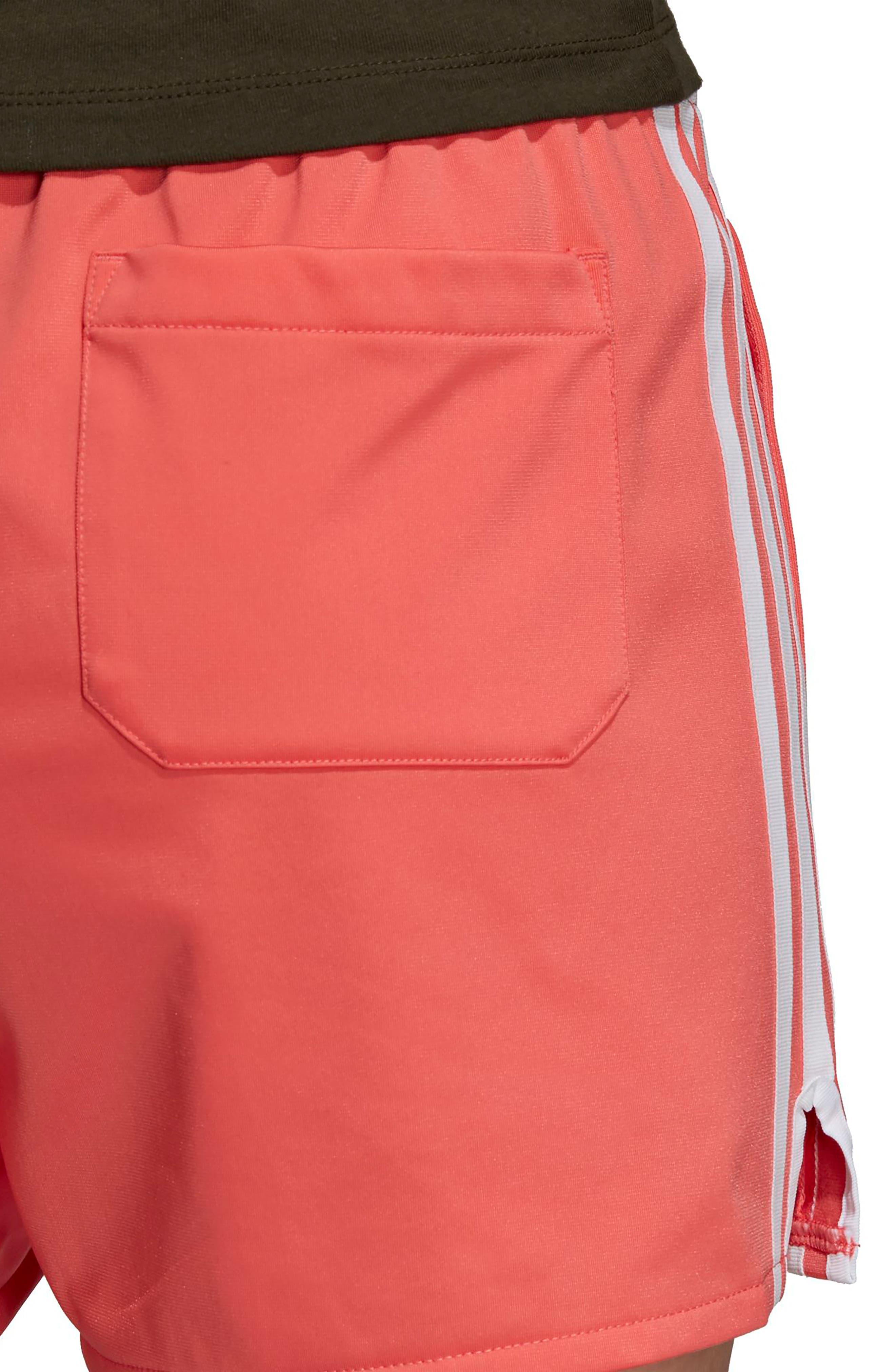 ADIDAS ORIGINALS,                             3-Stripes Shorts,                             Alternate thumbnail 6, color,                             600