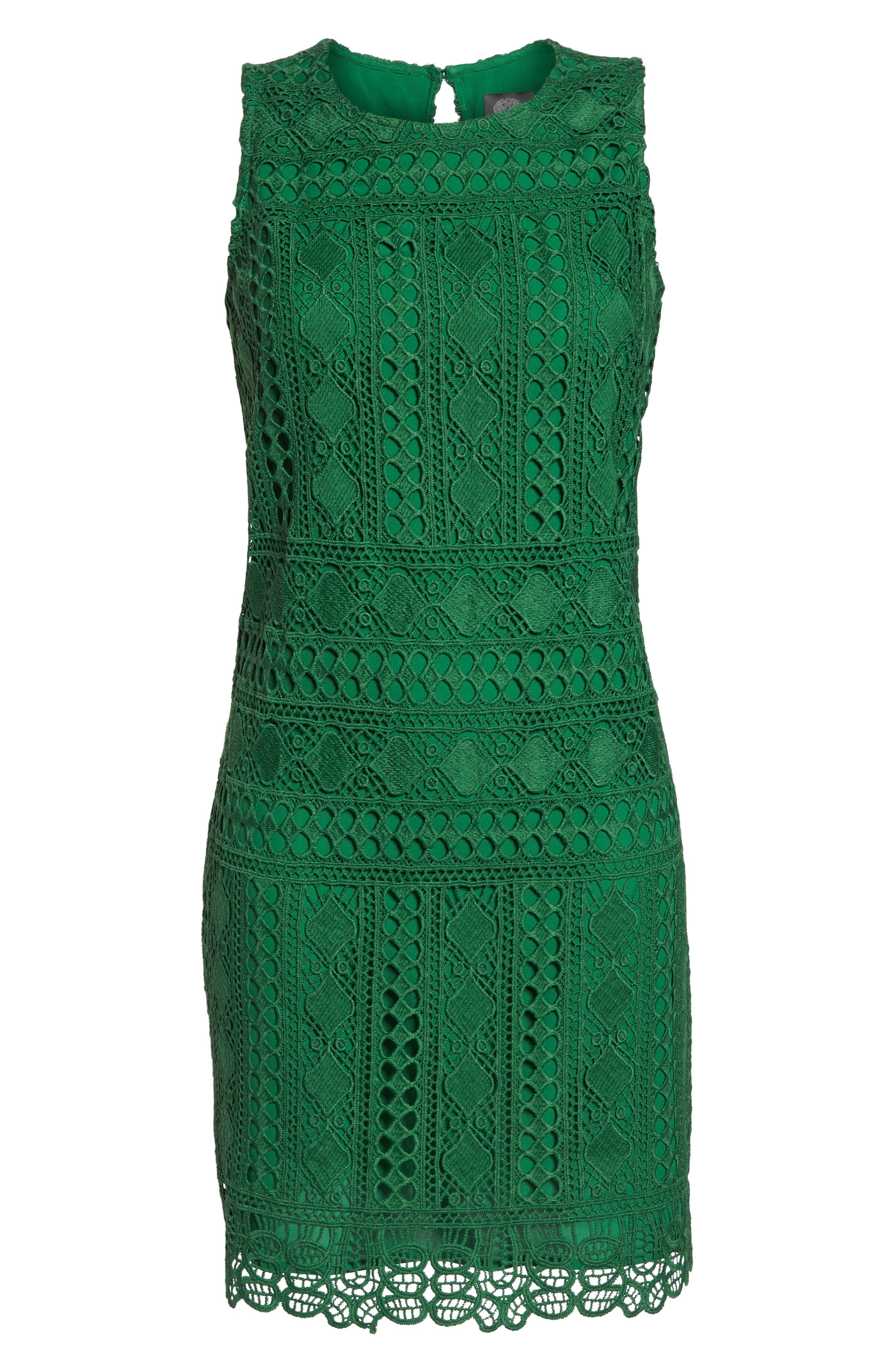 Lace Sheath Dress,                             Alternate thumbnail 7, color,                             310