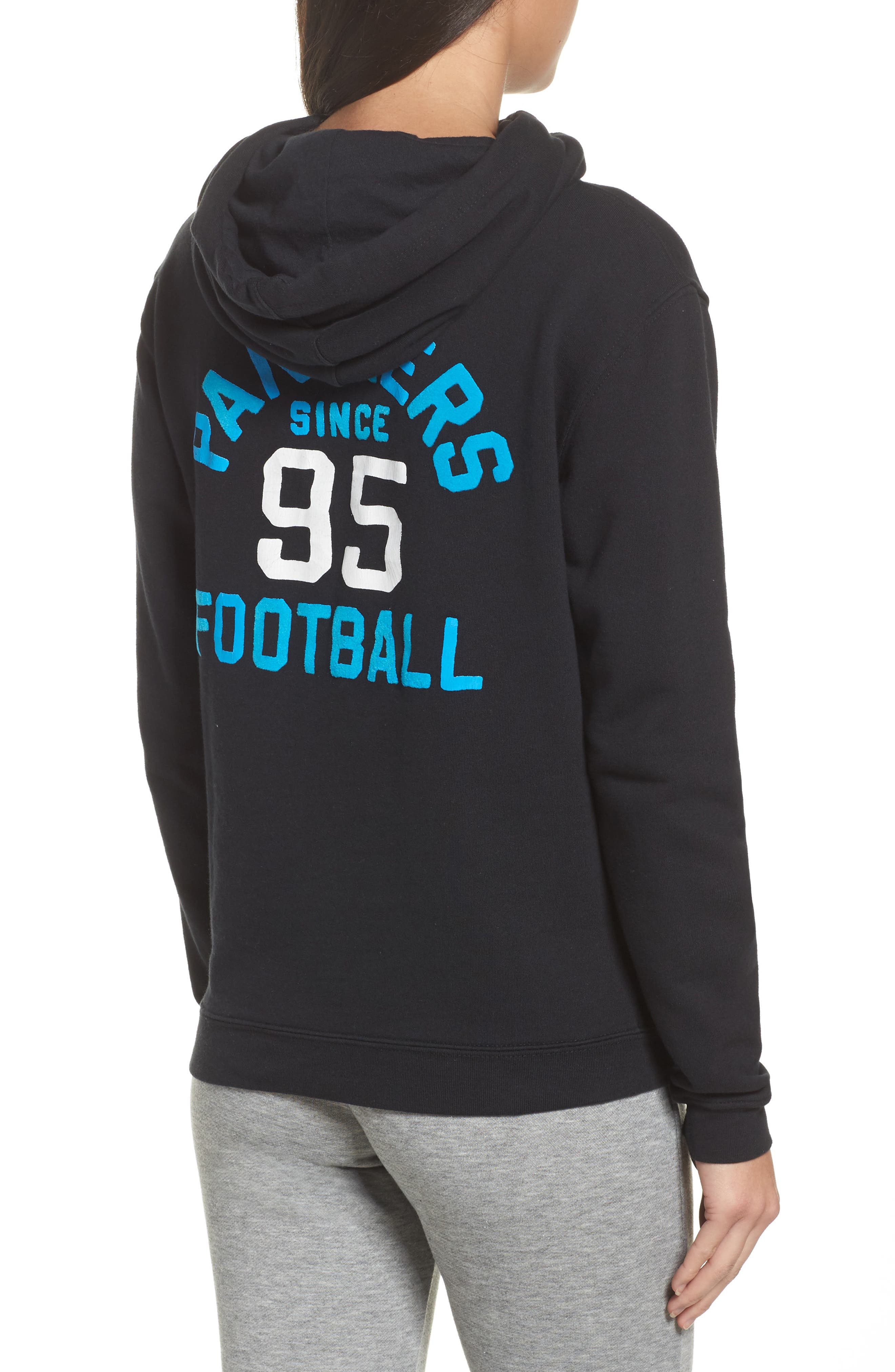 Panthers Sunday Hoodie,                             Alternate thumbnail 2, color,                             001