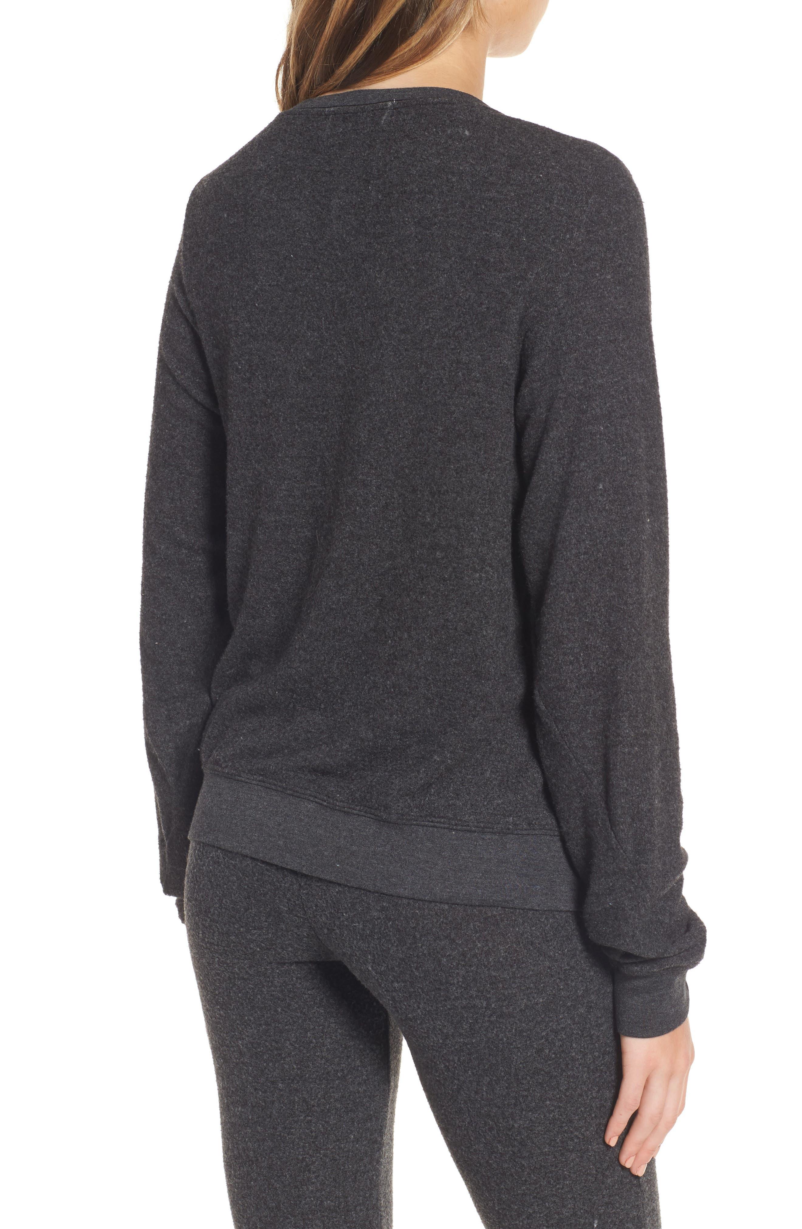 Salty Hair Sweatshirt,                             Alternate thumbnail 2, color,                             001