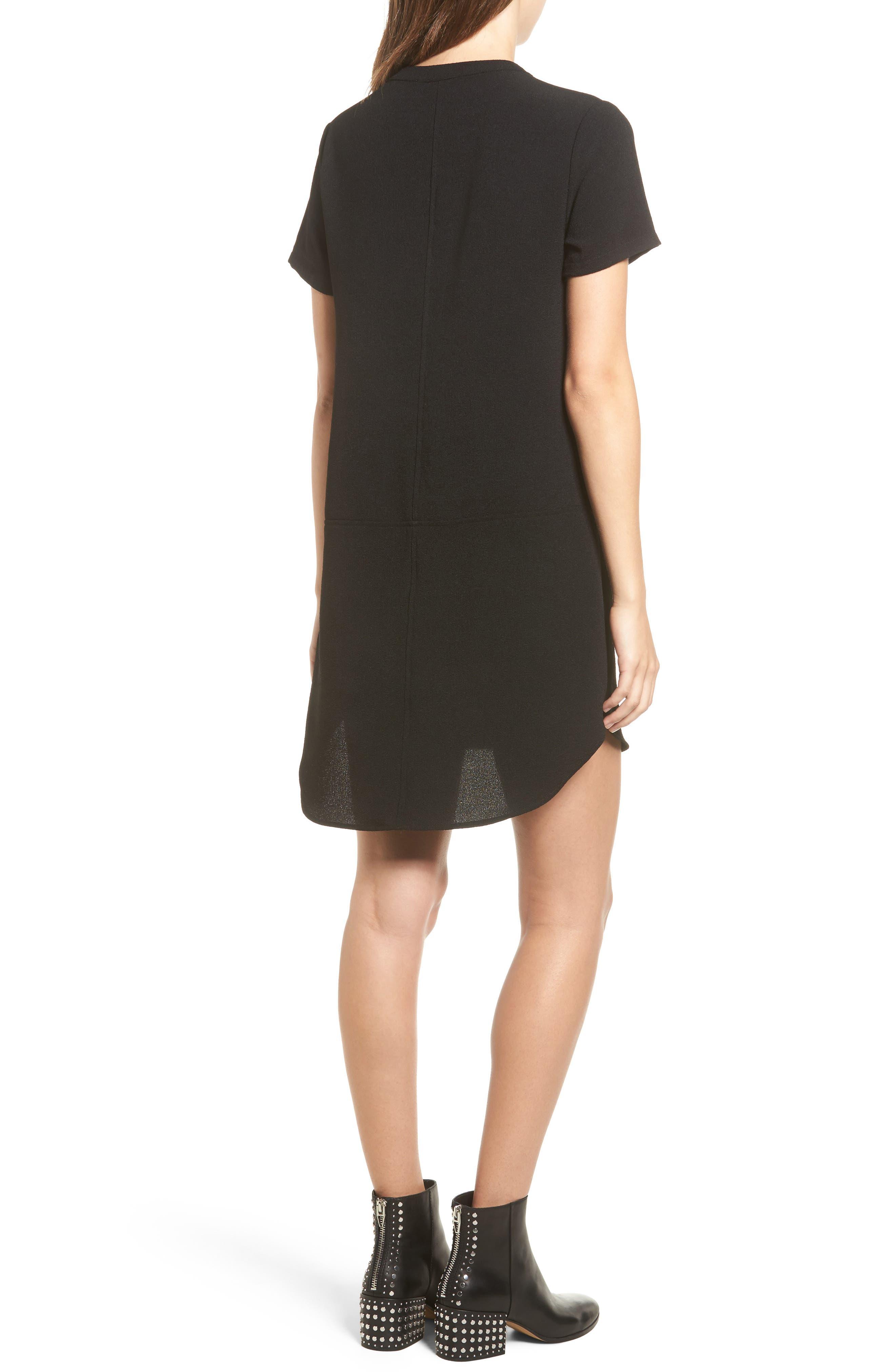 Hailey Crepe Dress,                             Alternate thumbnail 55, color,