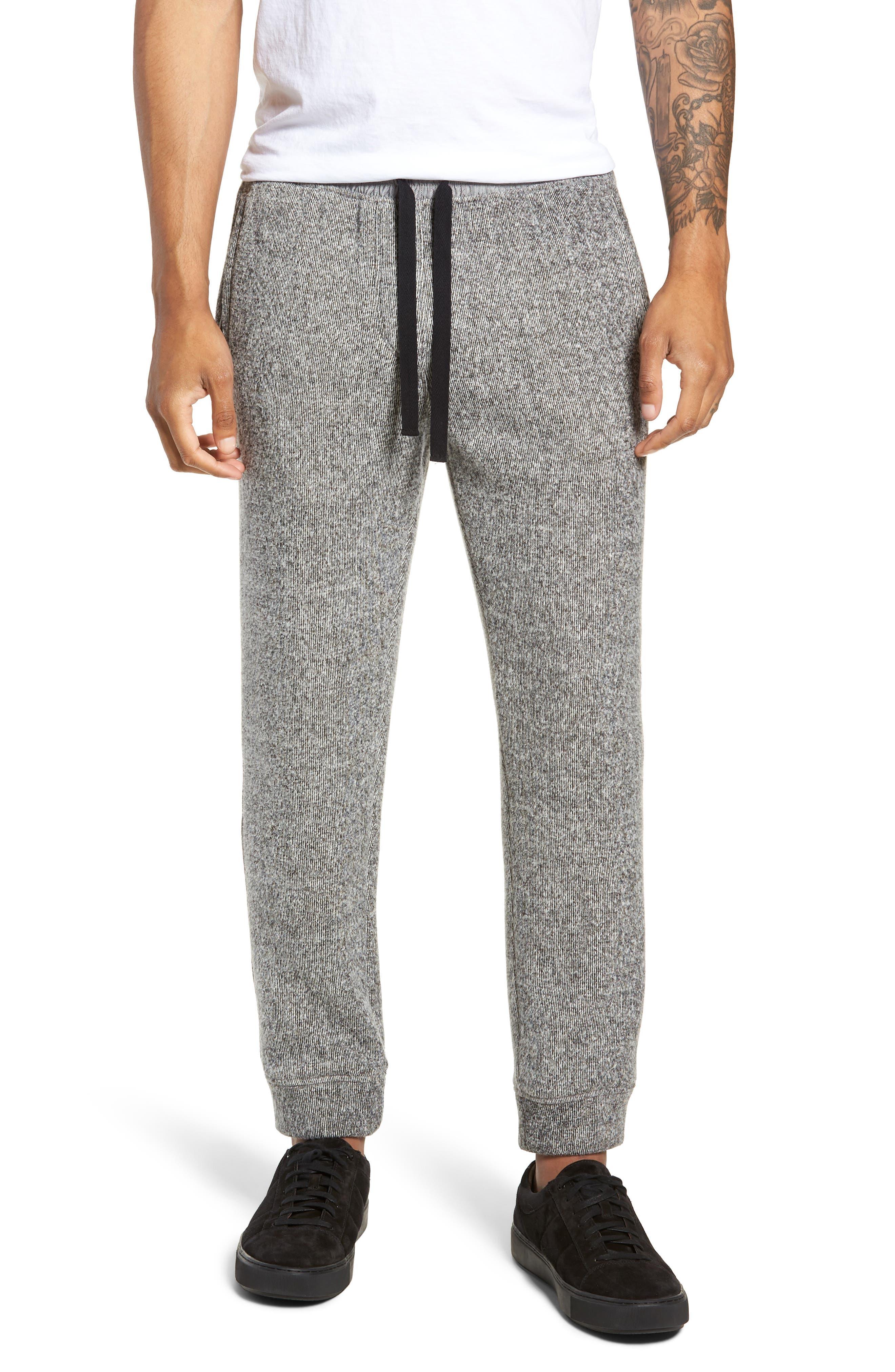 Double Face Slim Fit Sweatpants,                         Main,                         color, 001