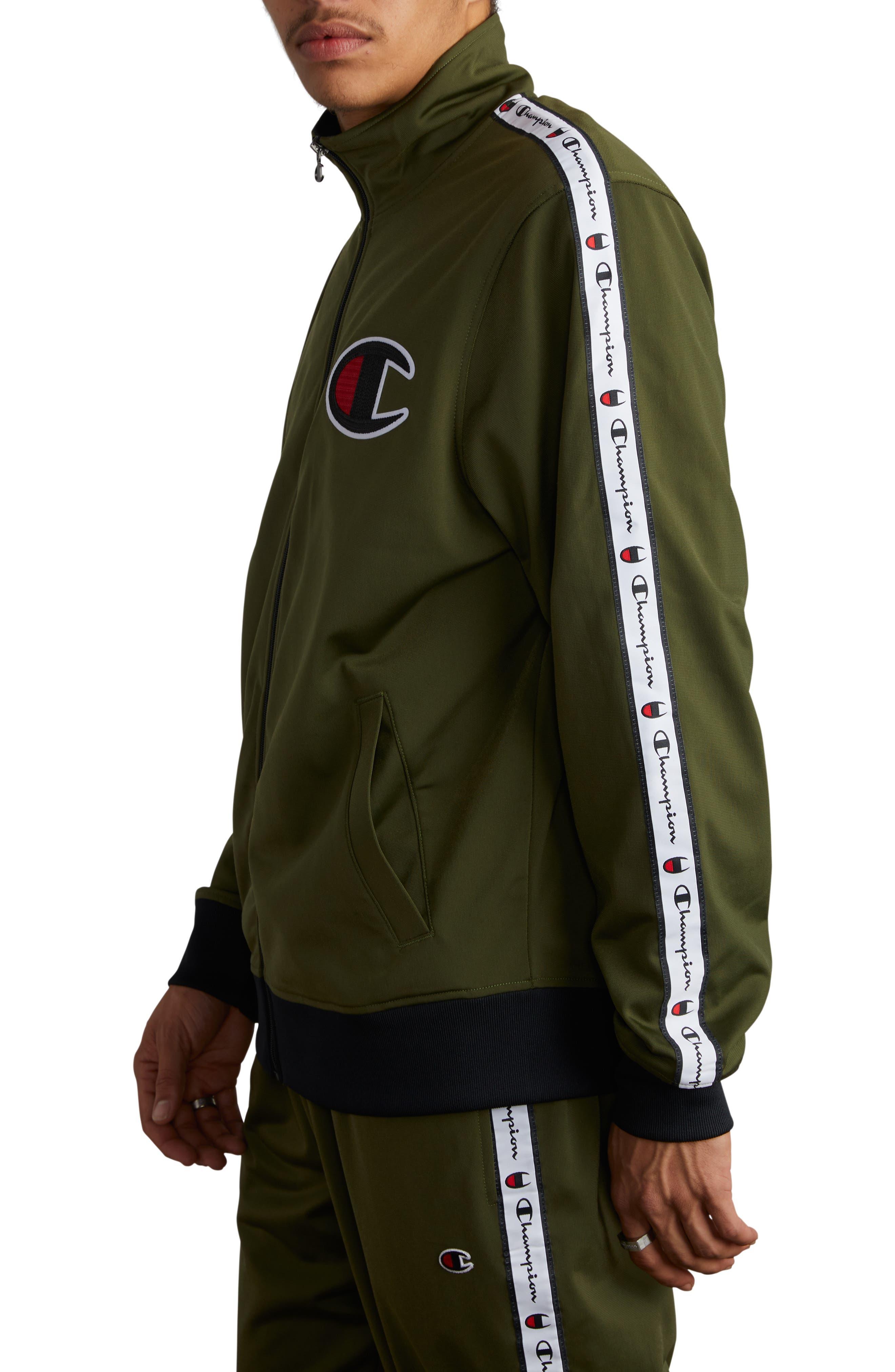 Track Jacket,                             Alternate thumbnail 3, color,                             HIKER GREEN