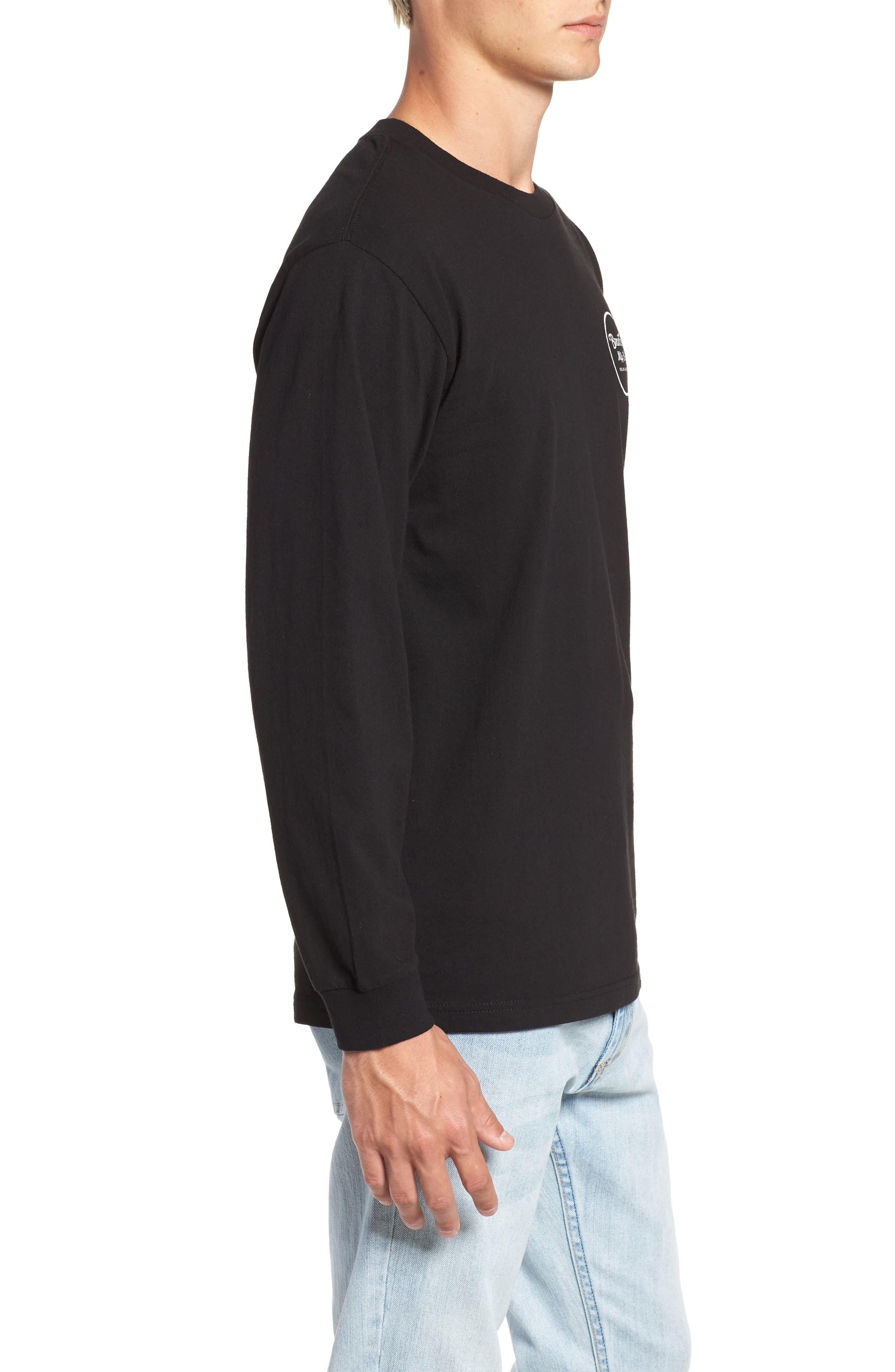 Wheeler II T-Shirt,                             Alternate thumbnail 3, color,                             BLACK