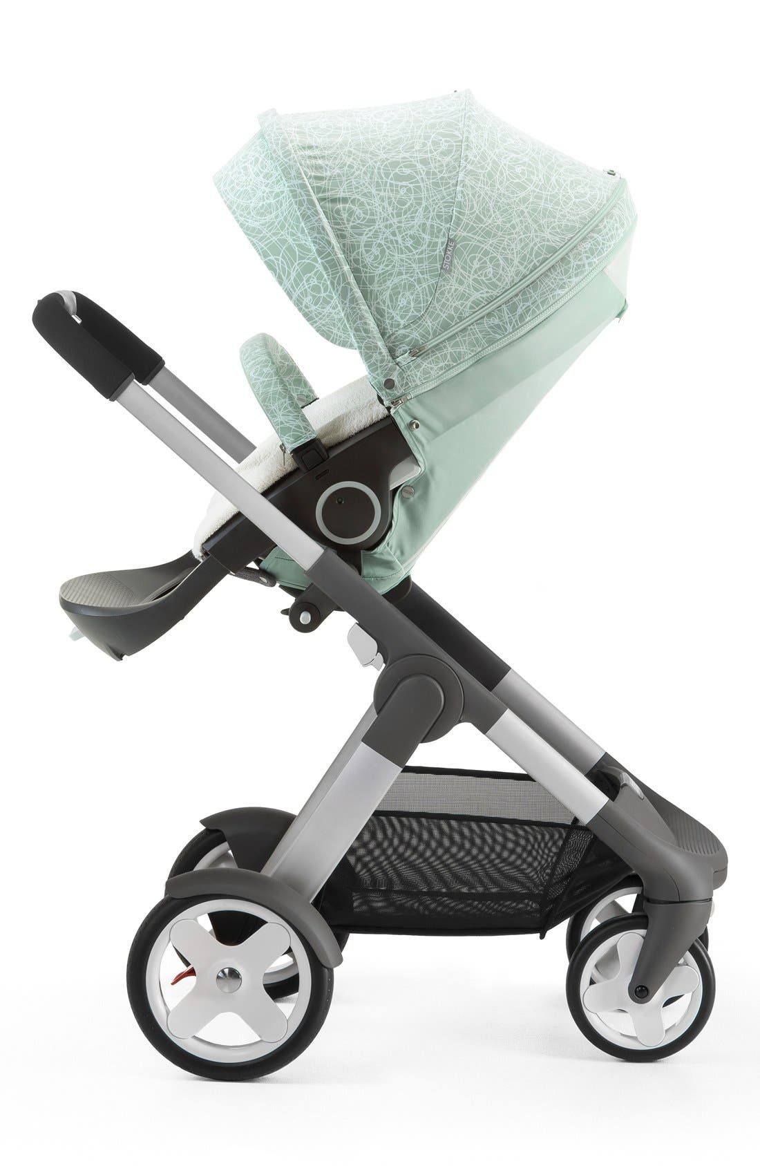 Baby 'Xplory<sup>®</sup> Stroller Summer Kit' Shade Set,                             Alternate thumbnail 4, color,                             SALTY BLUE