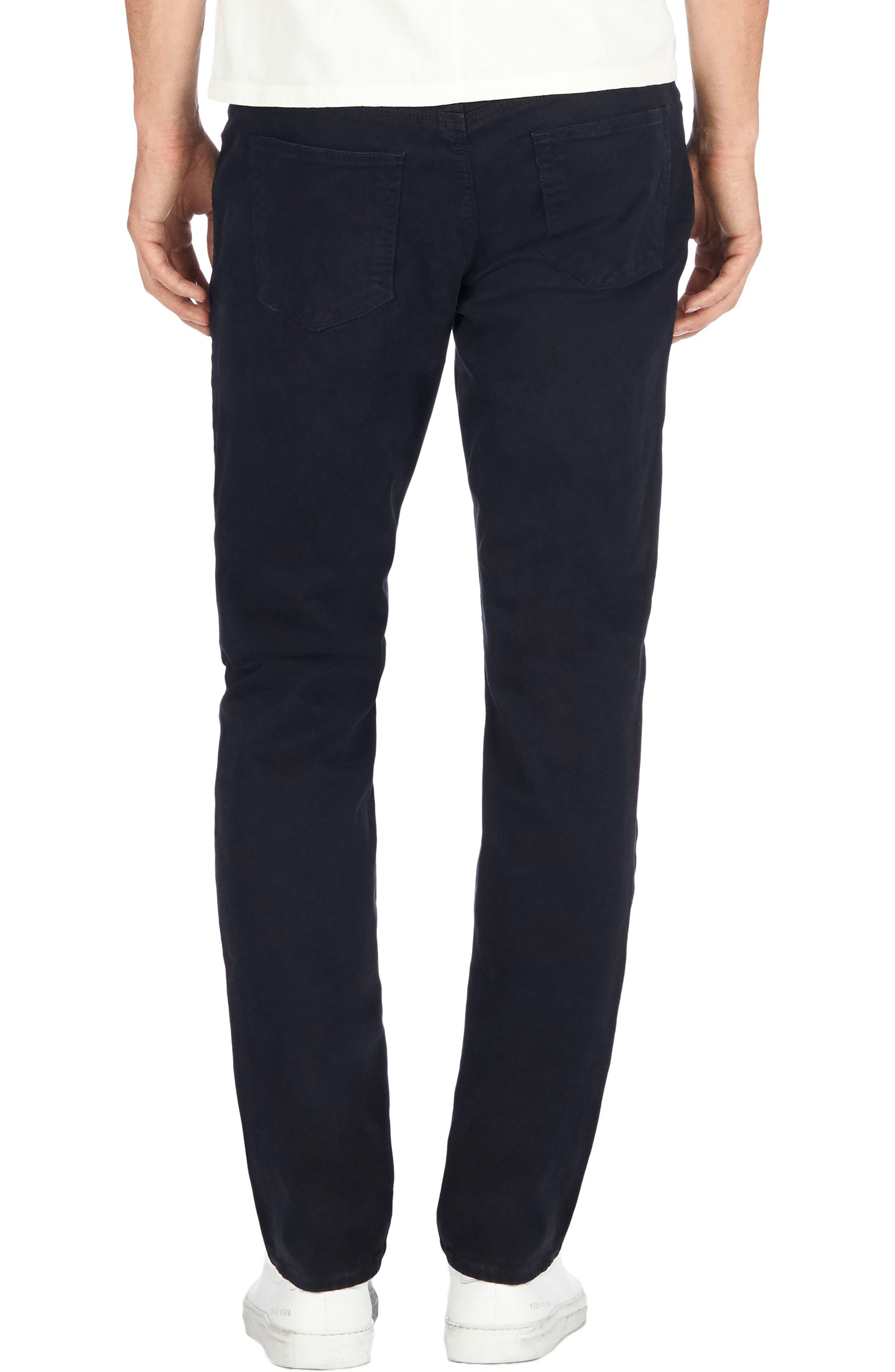 'Kane' Slim Fit Cotton Twill Pants,                             Alternate thumbnail 2, color,                             411