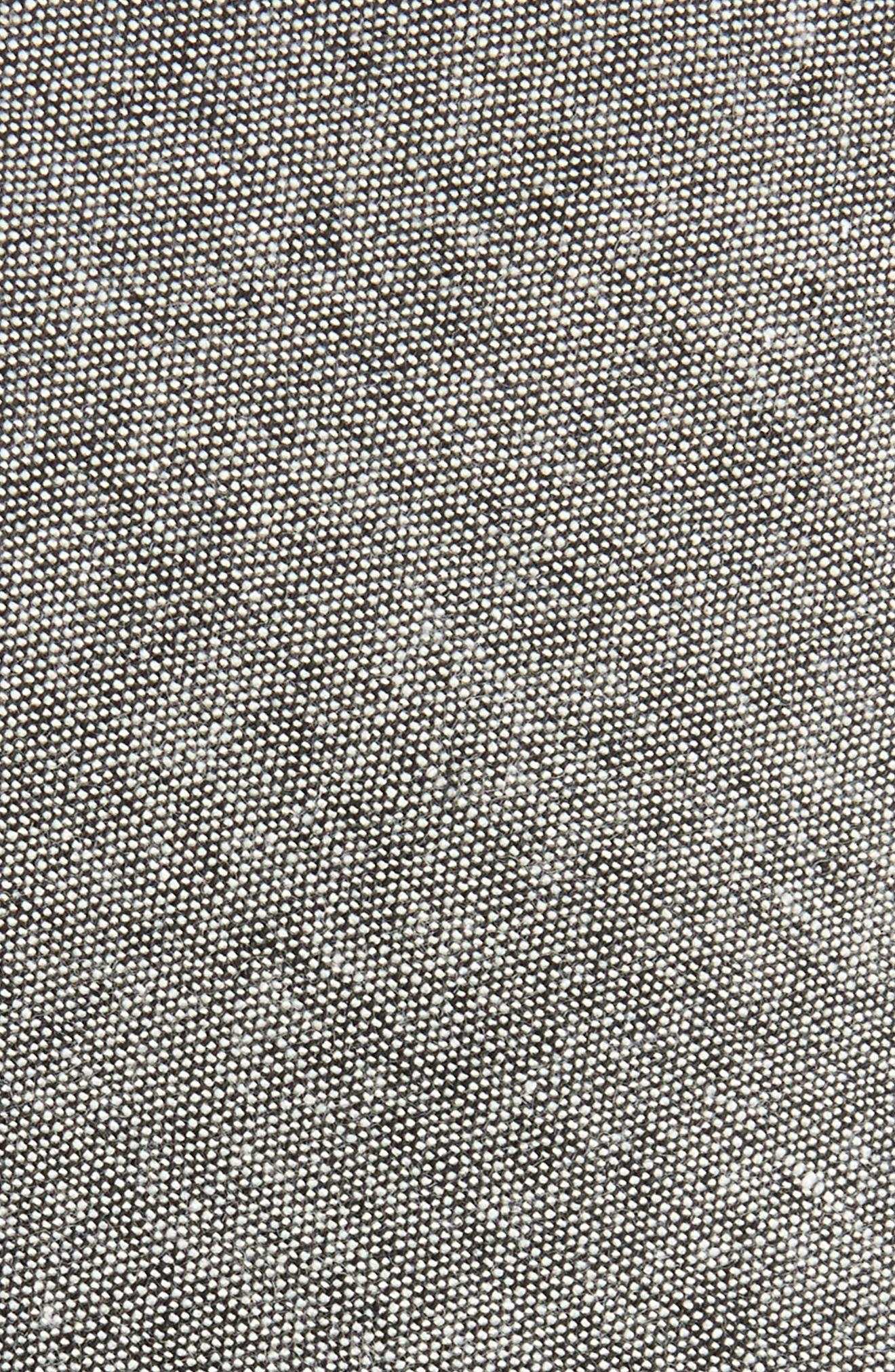 Textured Skinny Tie,                             Alternate thumbnail 2, color,                             001
