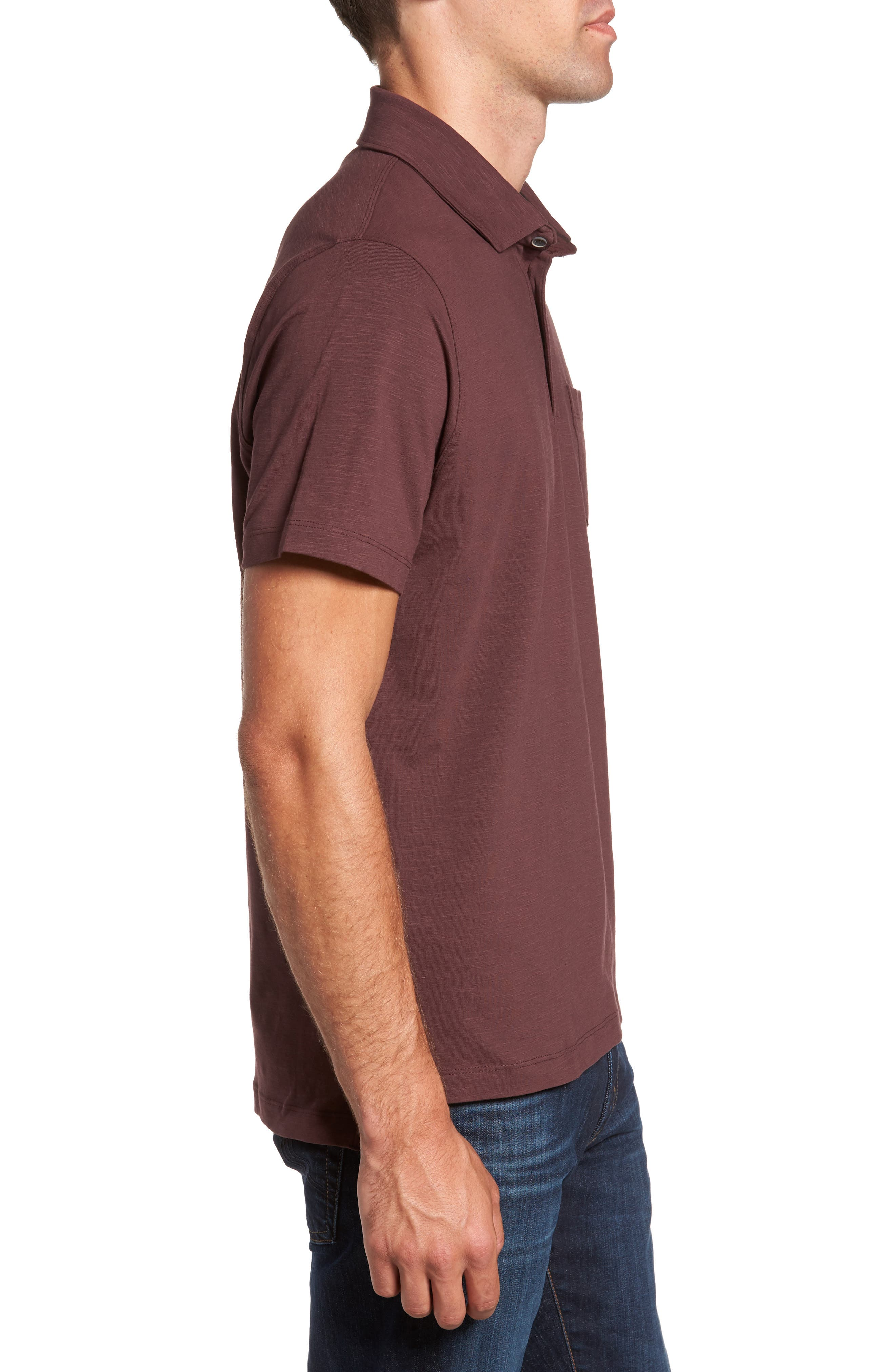 Stretch Slub Jersey Polo,                             Alternate thumbnail 9, color,