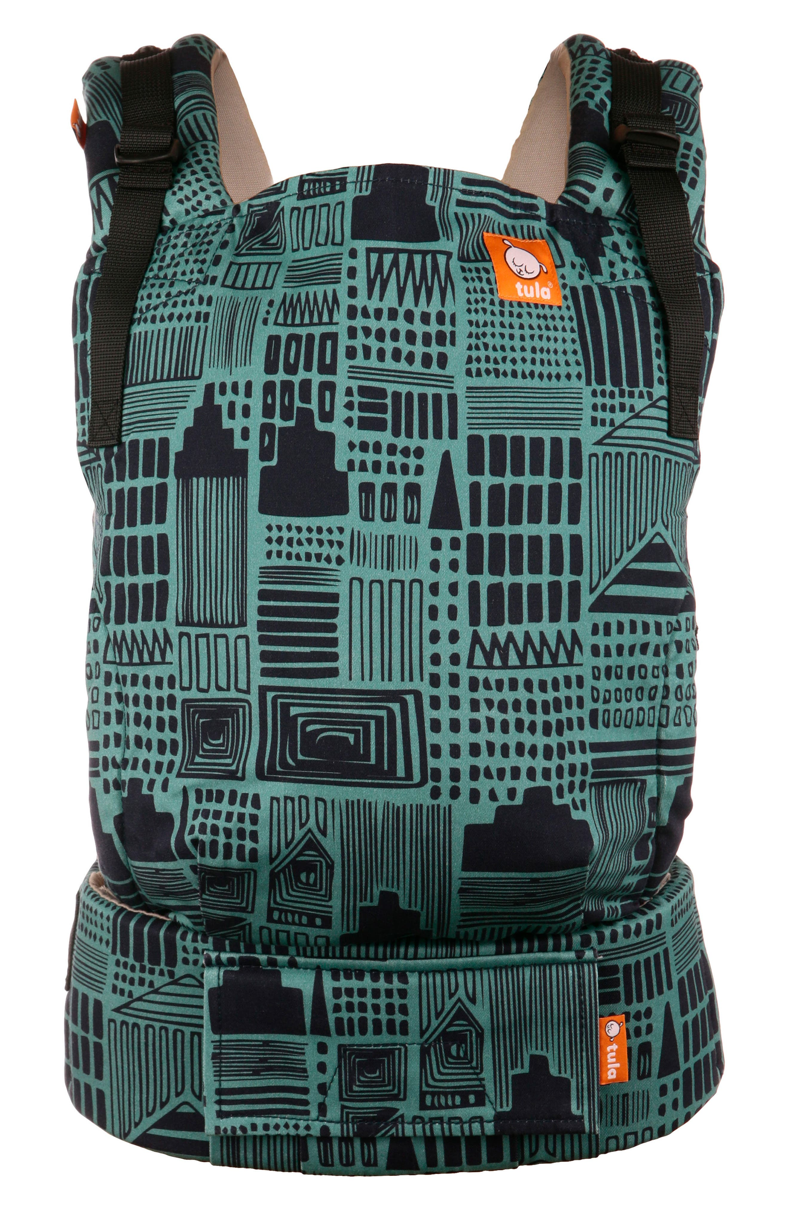 Cityscape Print Free-to-Grow Baby Carrier,                         Main,                         color, CITYSCAPE