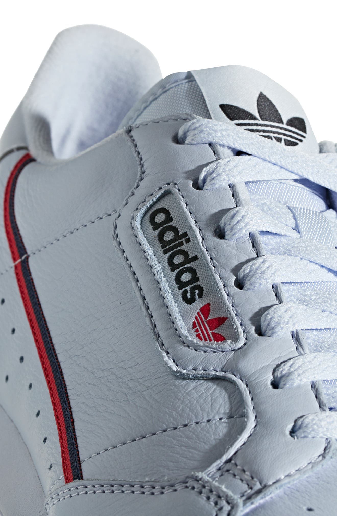 Continental 80 Sneaker,                             Alternate thumbnail 6, color,                             AERO BLUE/ SCARLET/ NAVY