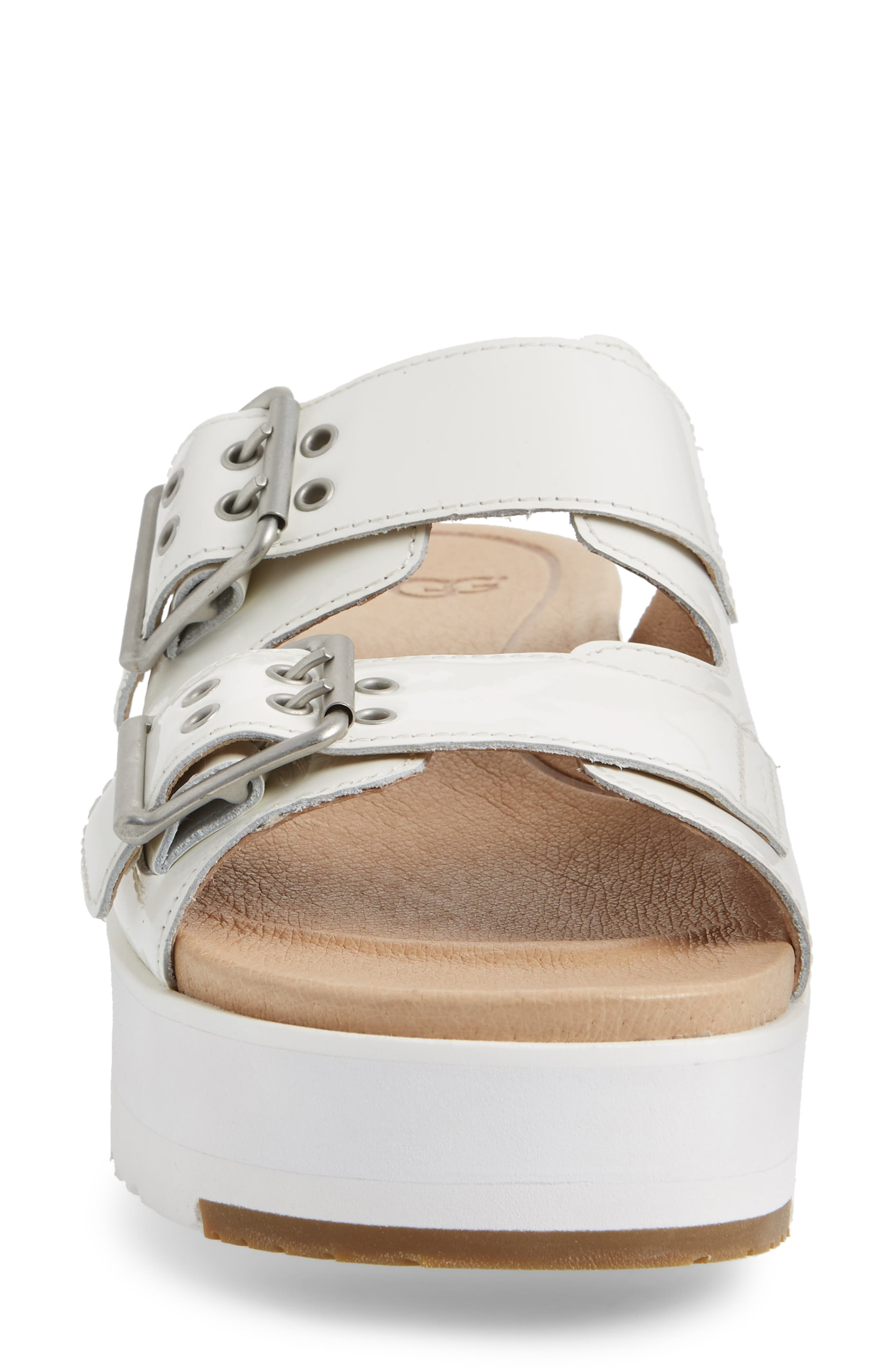 Cammie Platform Slide Sandal,                             Alternate thumbnail 8, color,