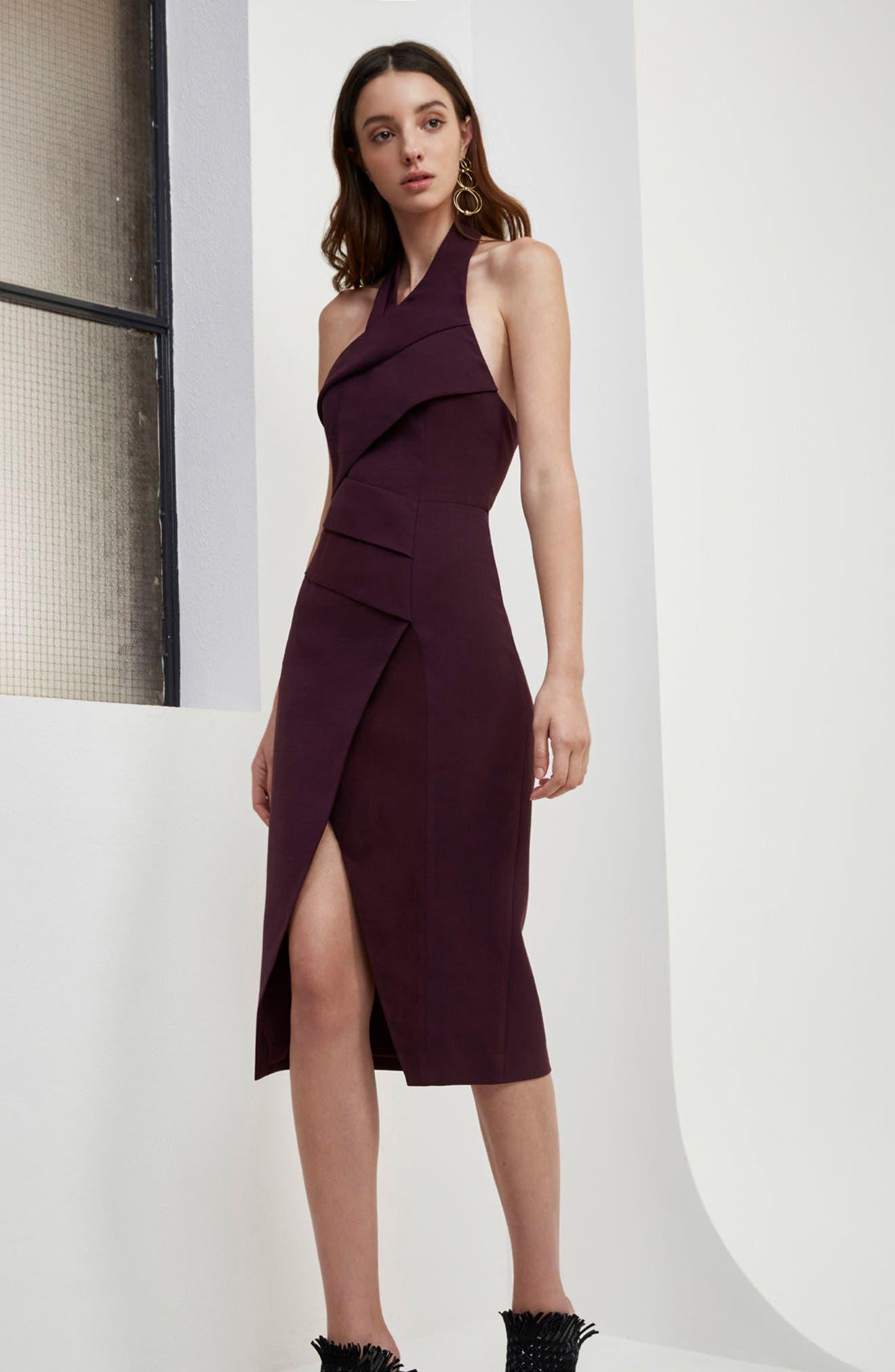Don't Stop Midi Dress,                             Alternate thumbnail 6, color,