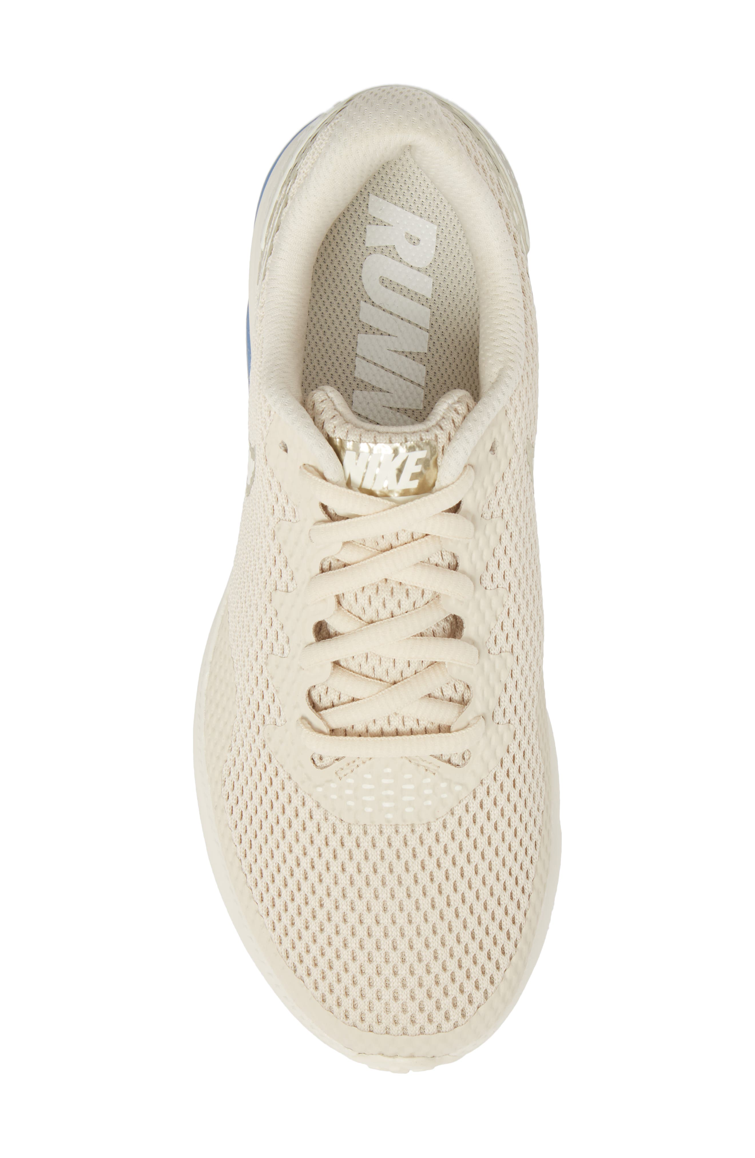 Zoom All Out Low 2 Running Shoe,                             Alternate thumbnail 5, color,                             LIGHT CREAM/ SAIL