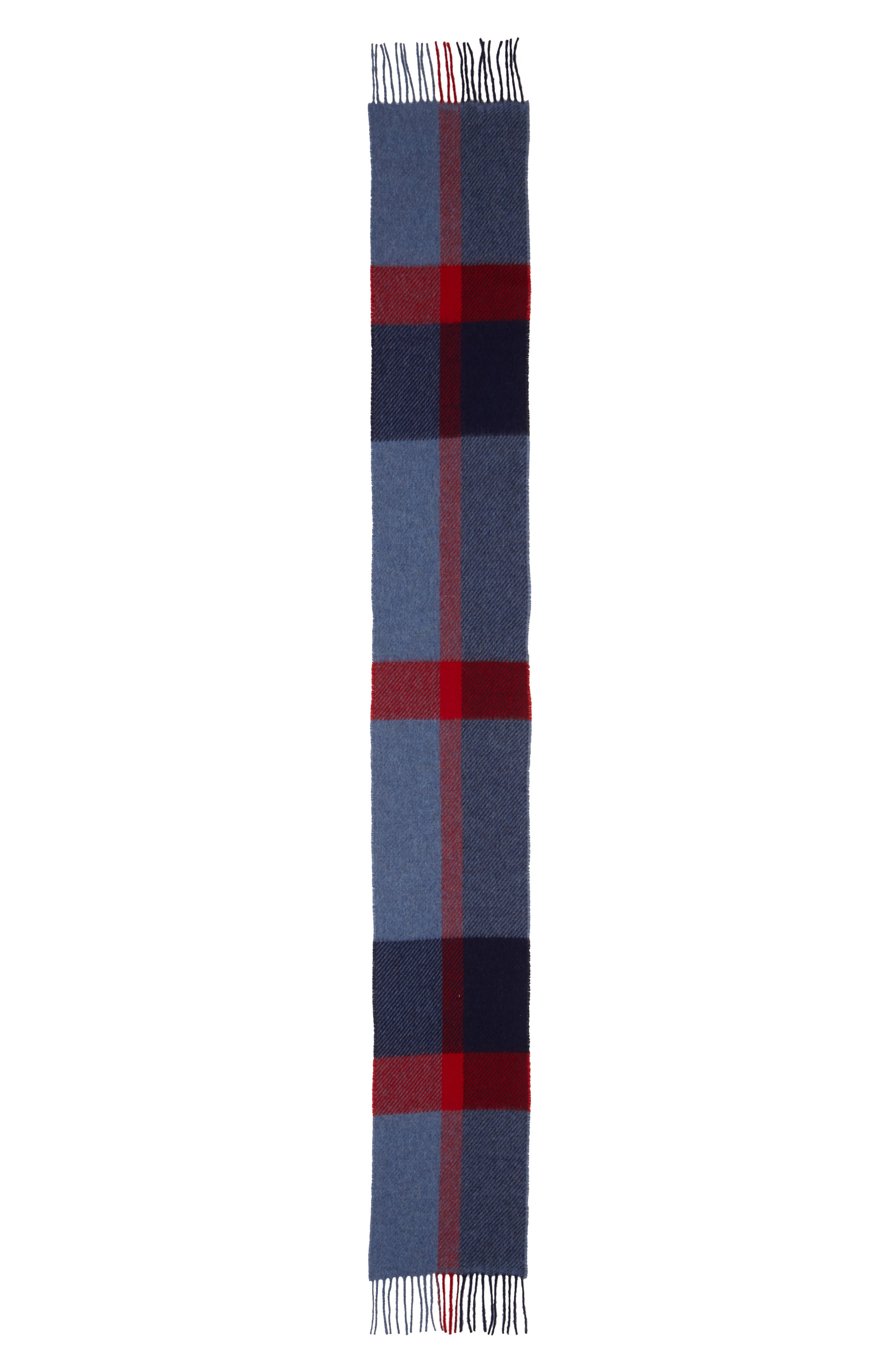 BARBOUR,                             Oakwell Wool Scarf,                             Alternate thumbnail 2, color,                             400