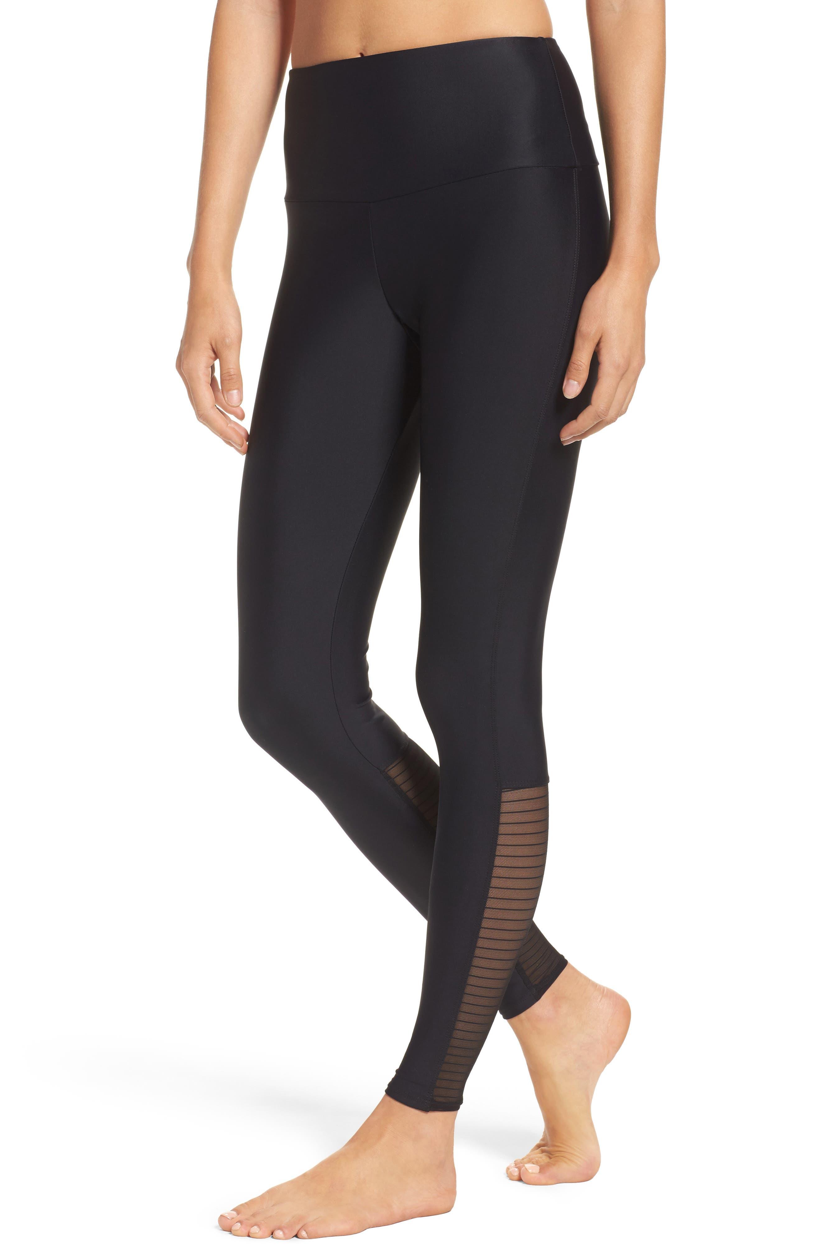 High Rise Yoga Pants,                             Main thumbnail 1, color,                             001
