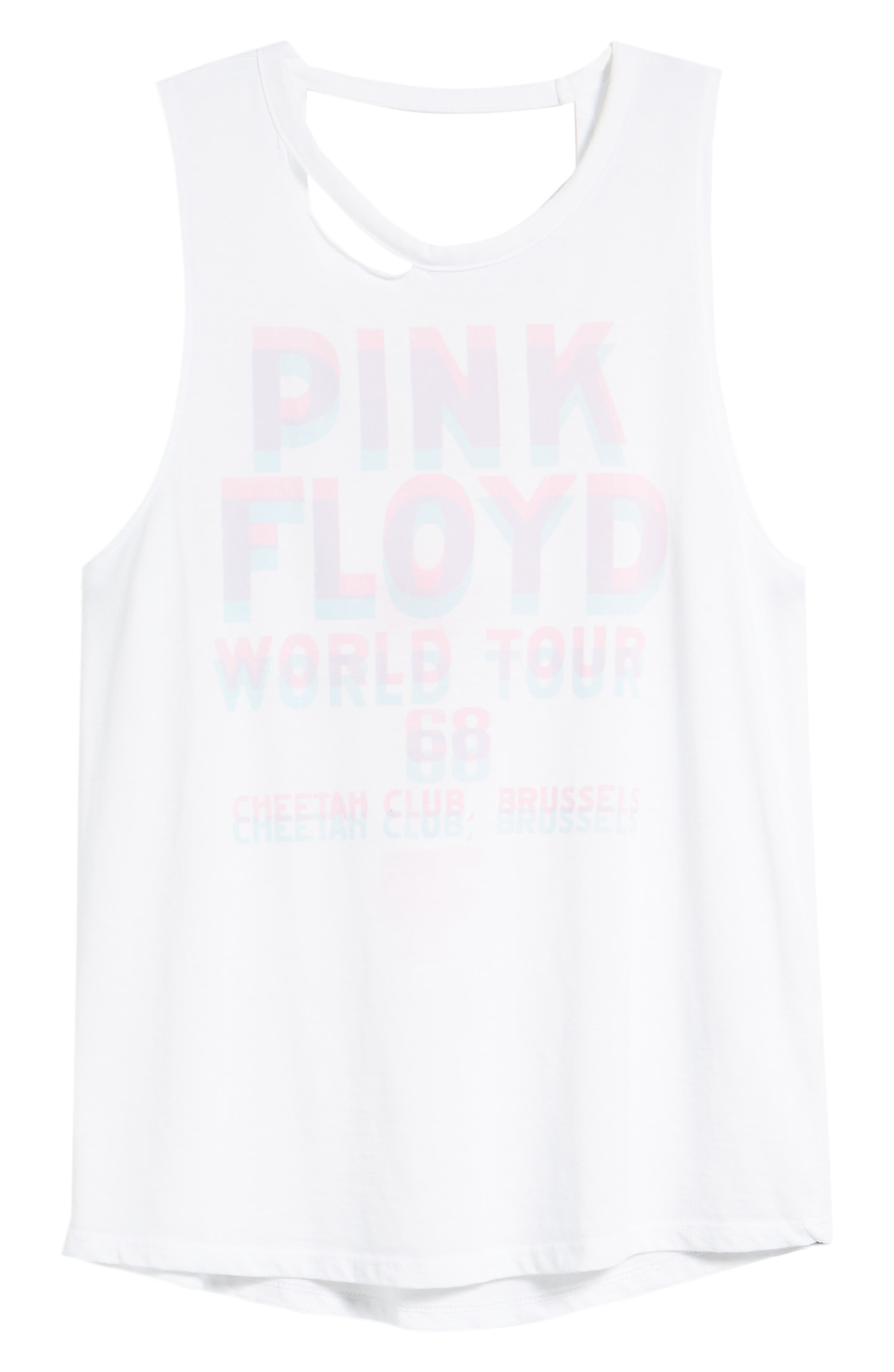 Pink Floyd Strappy Back Tank,                             Alternate thumbnail 7, color,
