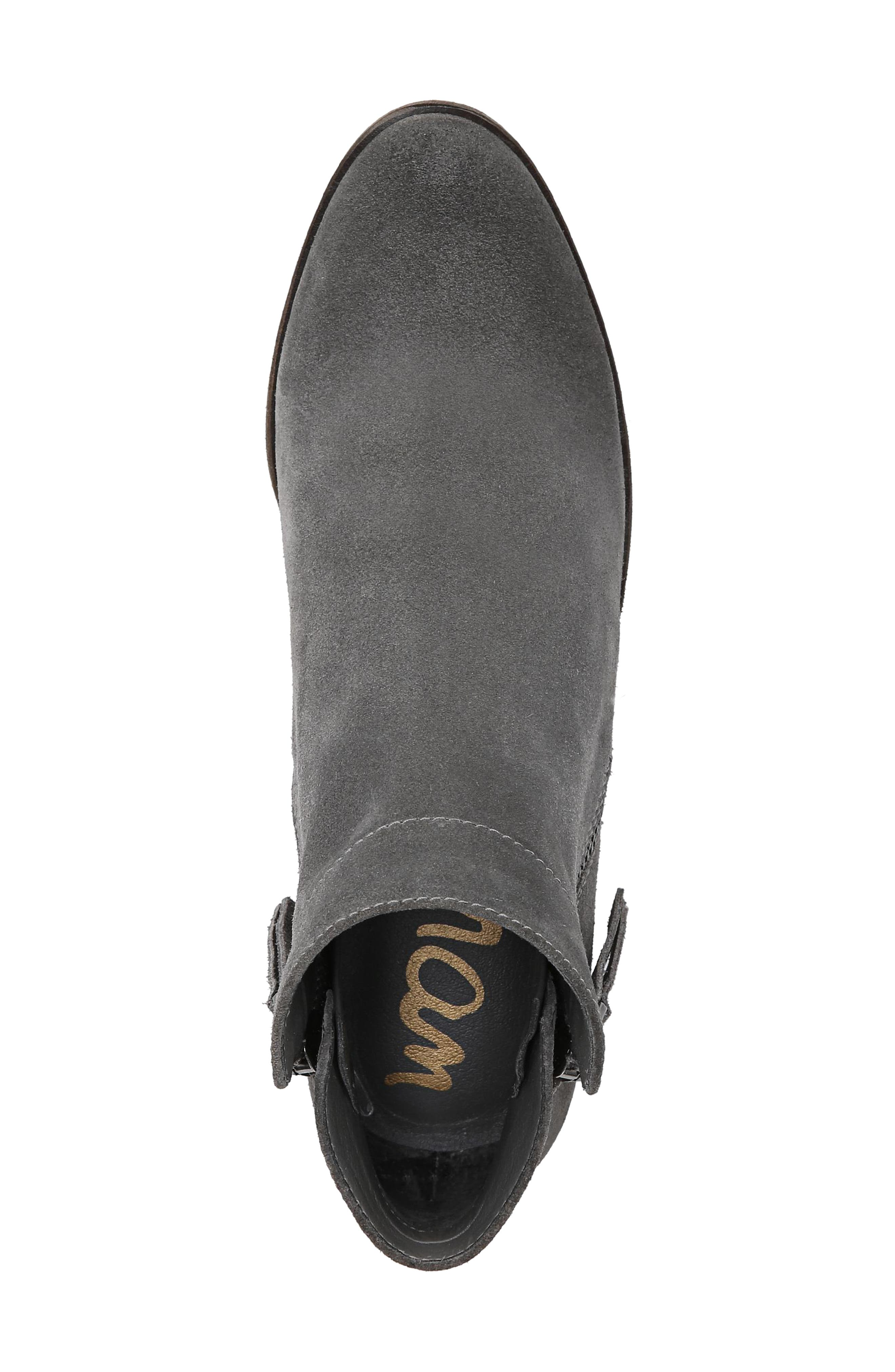Packer Bootie,                             Alternate thumbnail 5, color,                             STEEL GREY SUEDE LEATHER