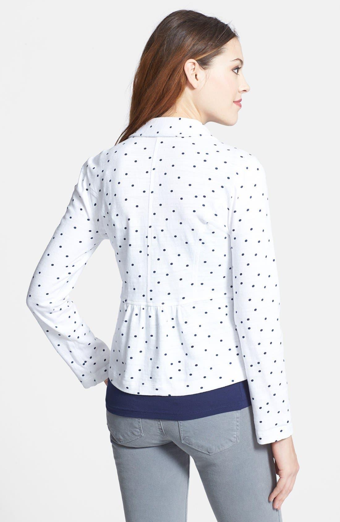 Cotton Knit Jacket,                             Alternate thumbnail 26, color,